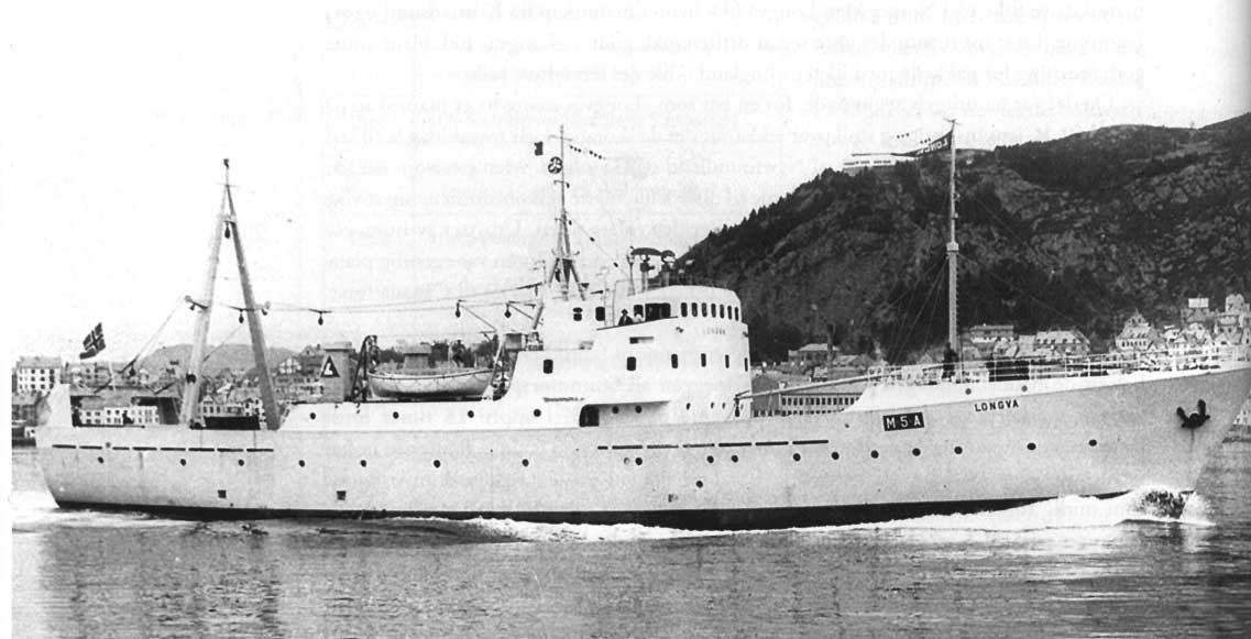 The first Norwegian factory trawler, Longva, was delivered to Longvatraal AS, Aalesund, in 1962.