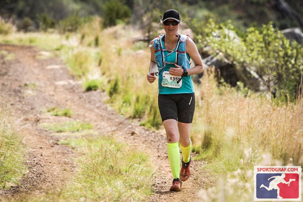 """""""My body told me to give up 17km ago but it was my mind that kept me going - Lisette Lombard"""""""