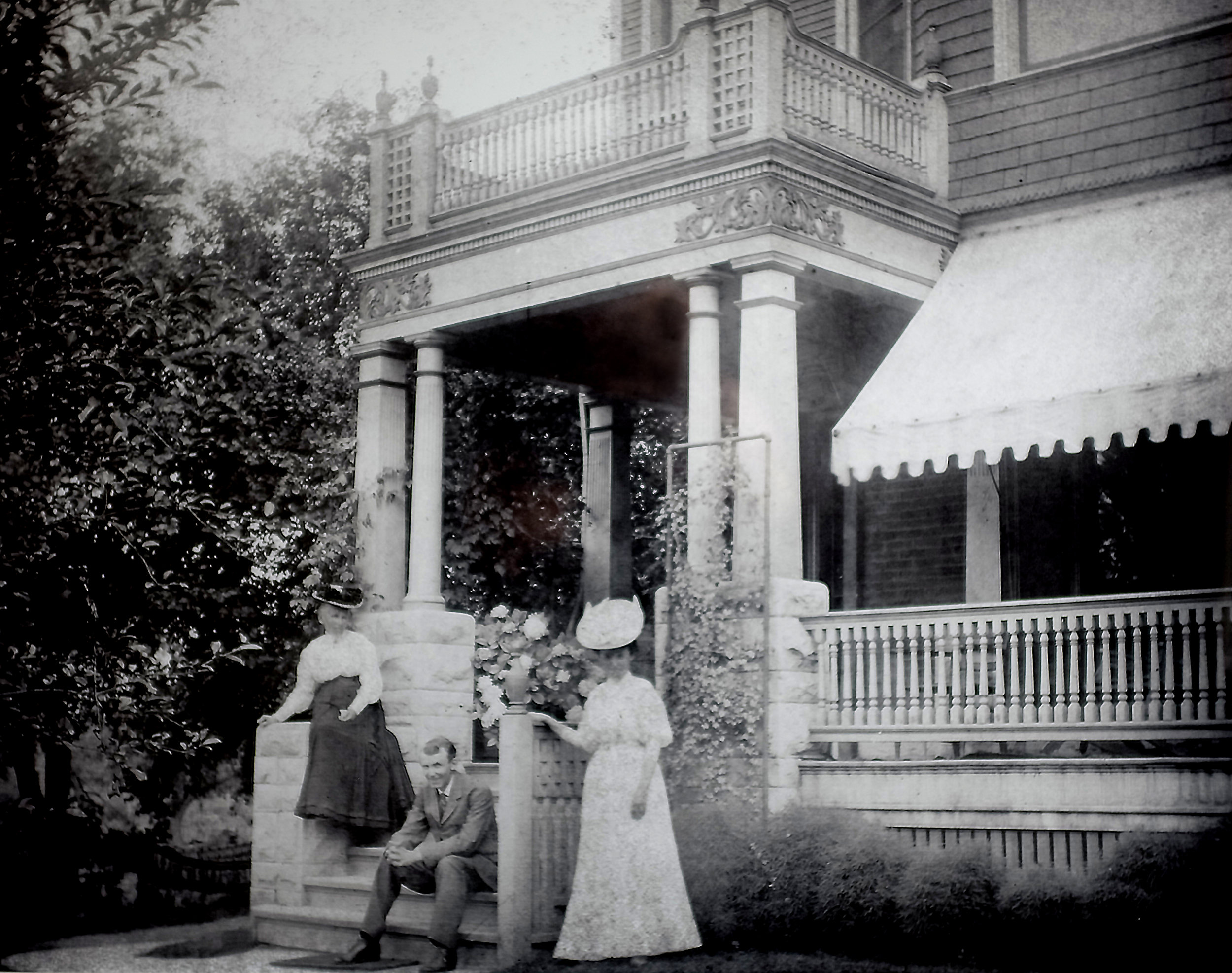 Kneeland family in 1907