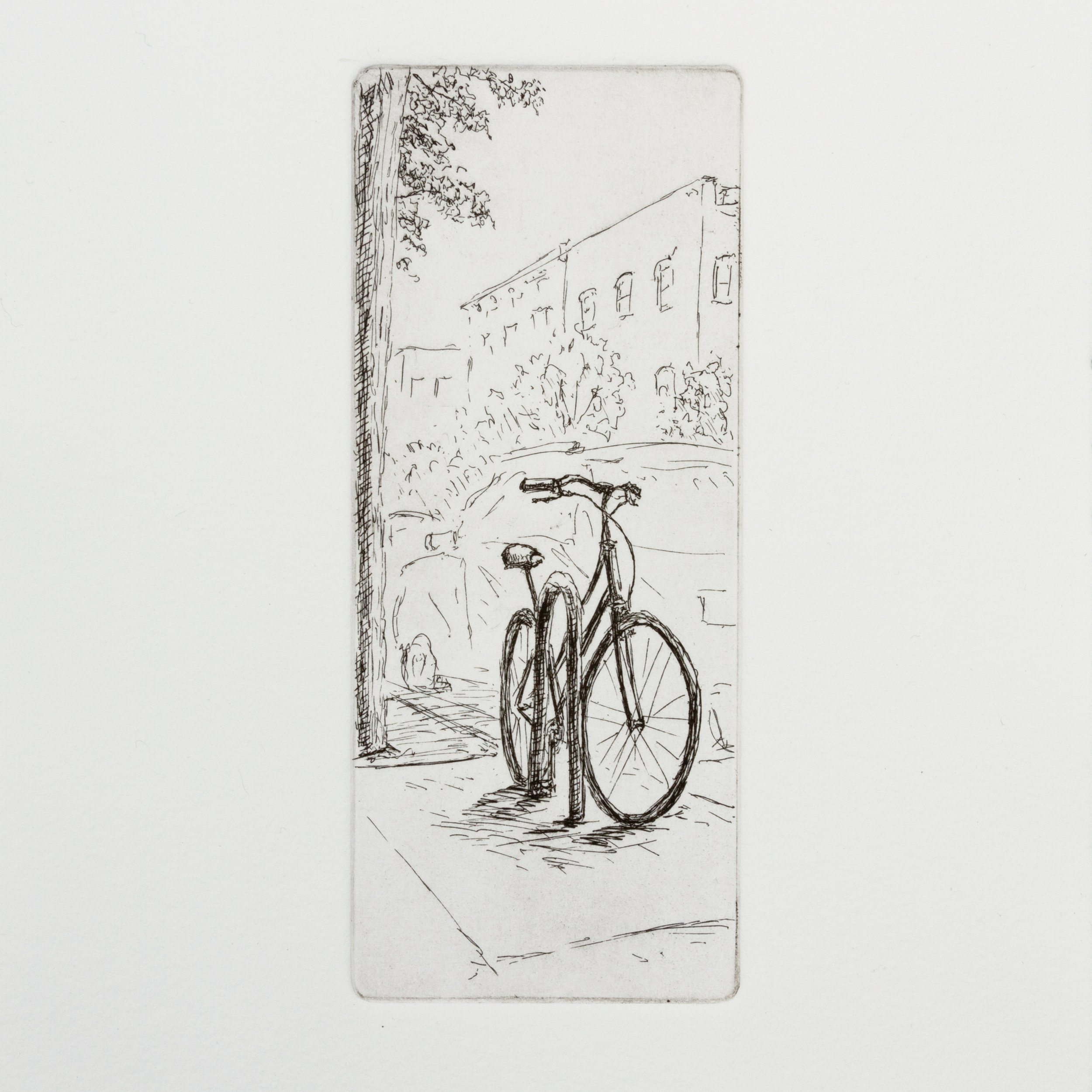 Urban Bicycles #1 - 2019 (Etching)  $150-250