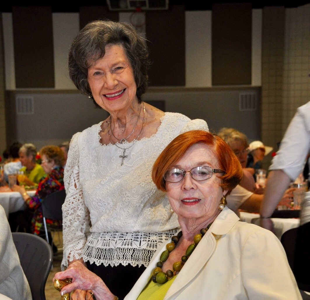 Doris with fellow ALCPL Foundation supporter and friend, Dr. Mildred Caudle