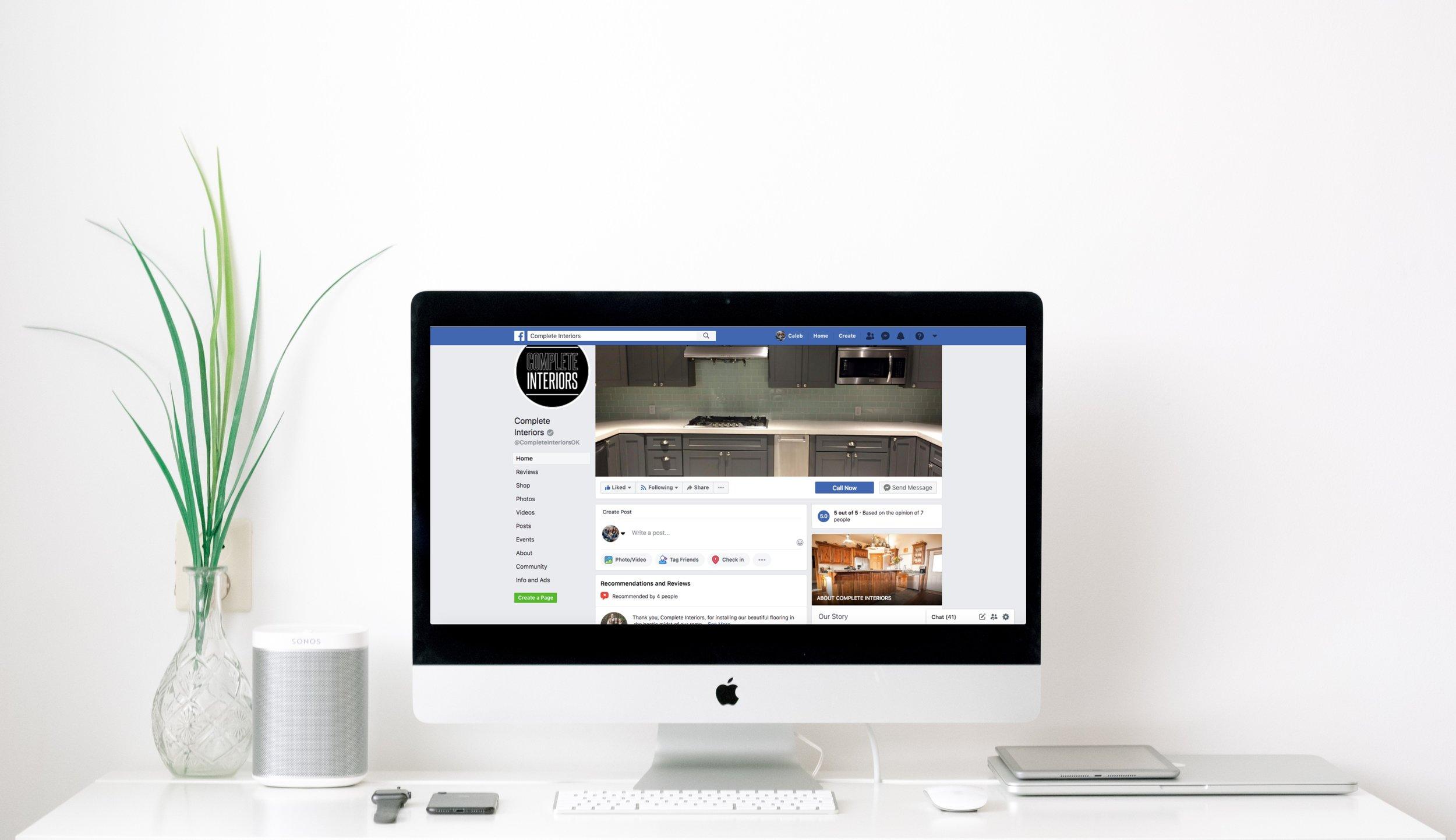 Complete Interiors Facebook