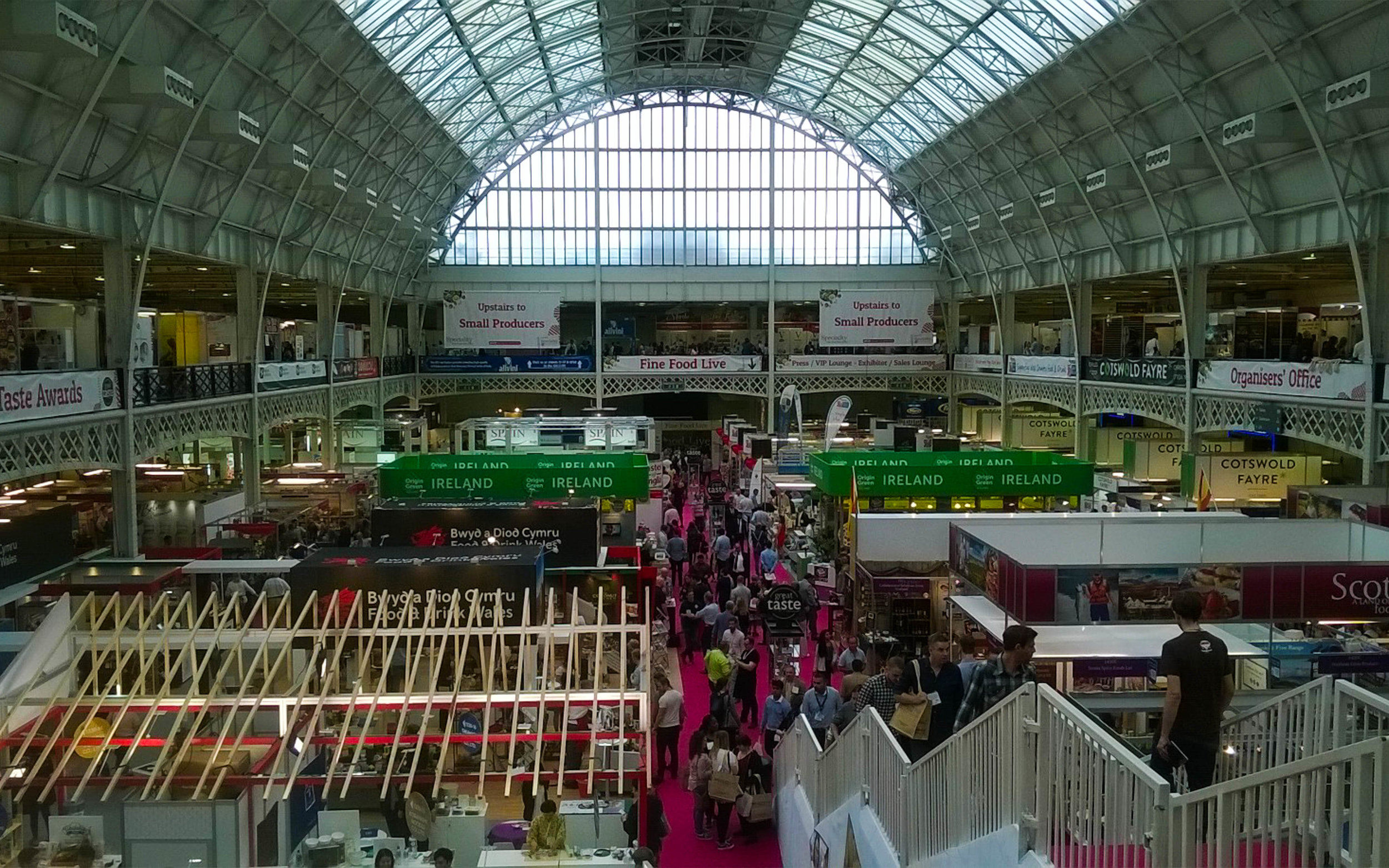 Speciality Food Fair Ground floor overview.jpg