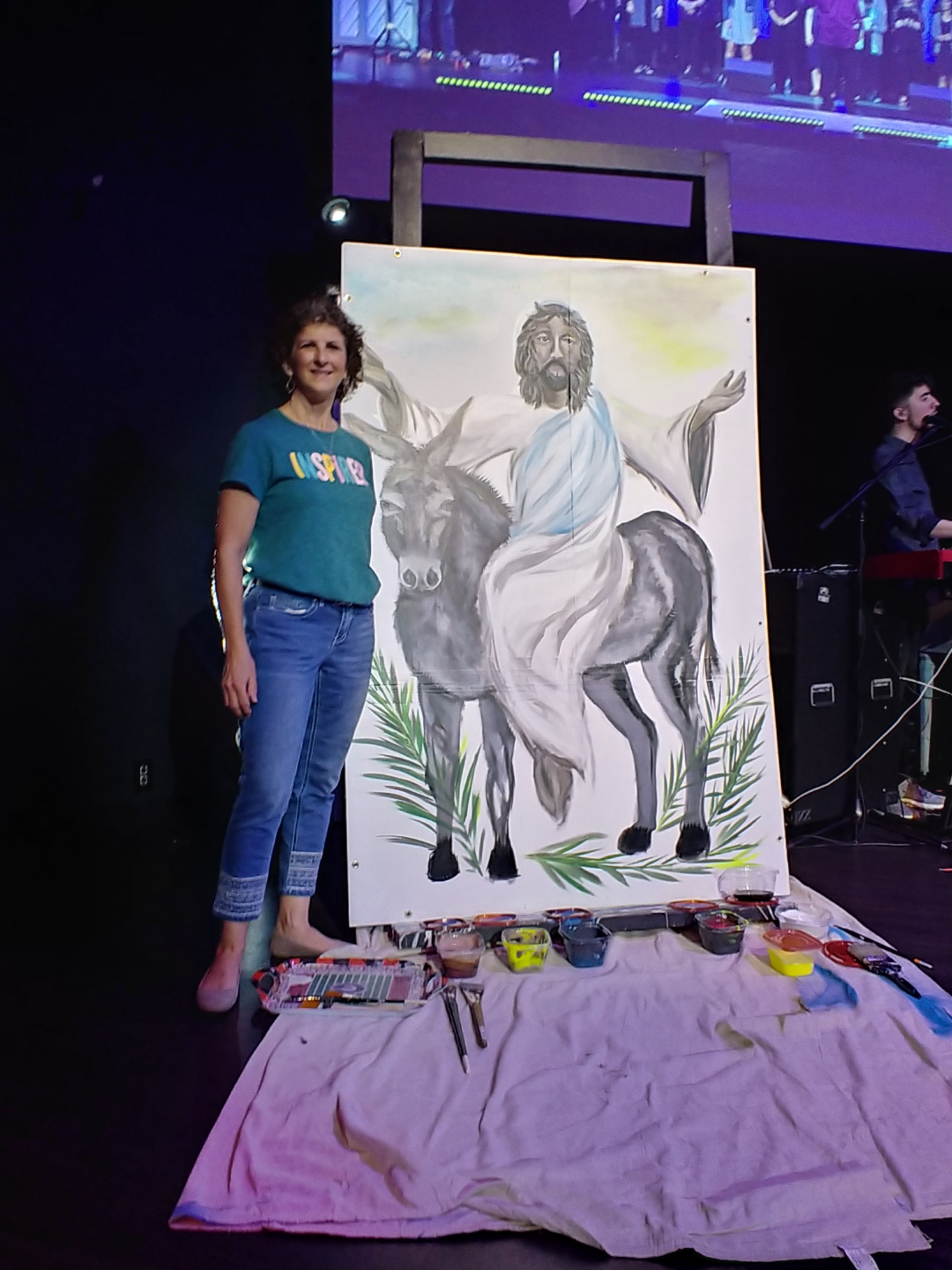 Live Painting at Church
