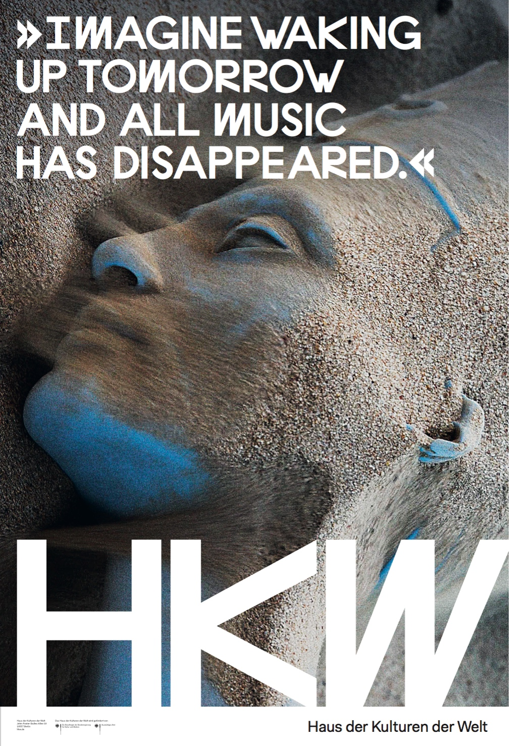 HKW public campaign poster