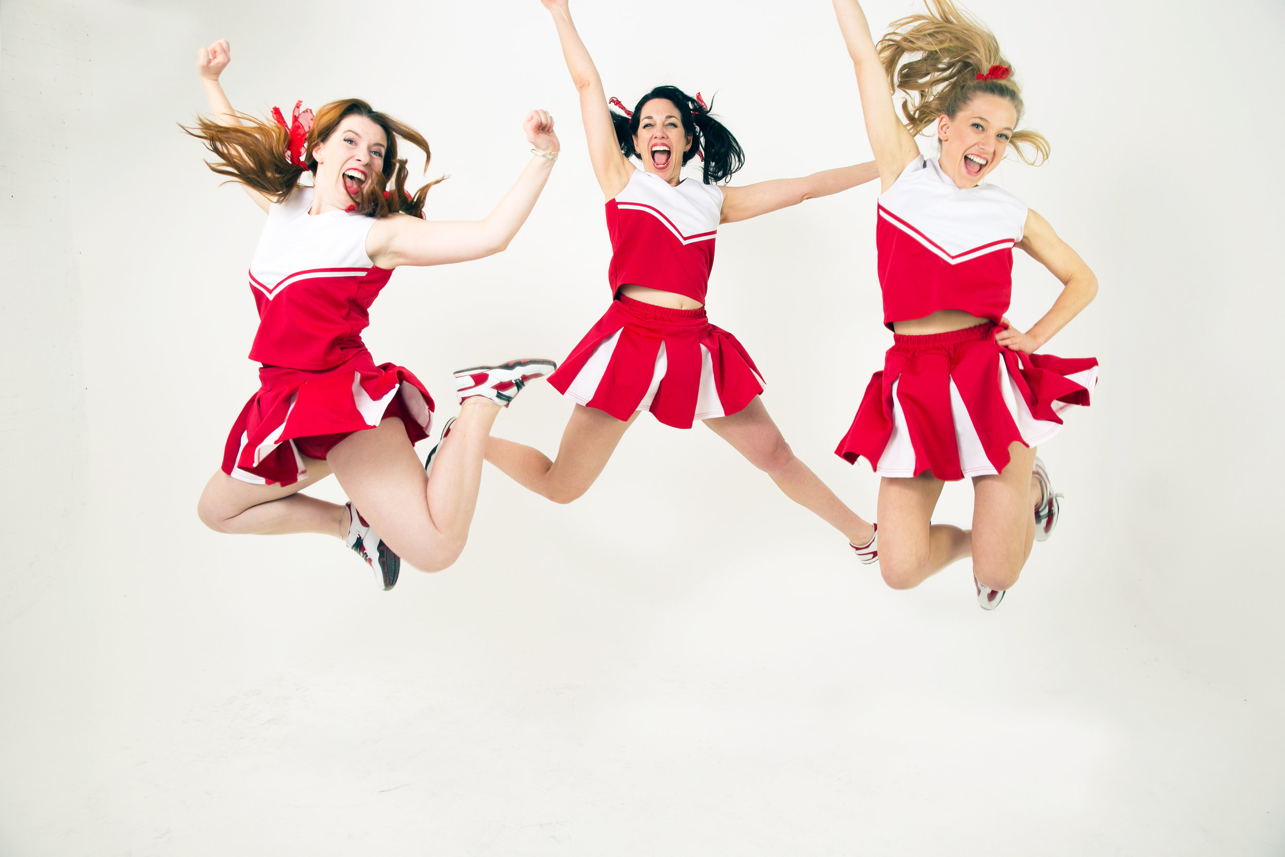 Extreme US Right Wing Cheerleading Squad