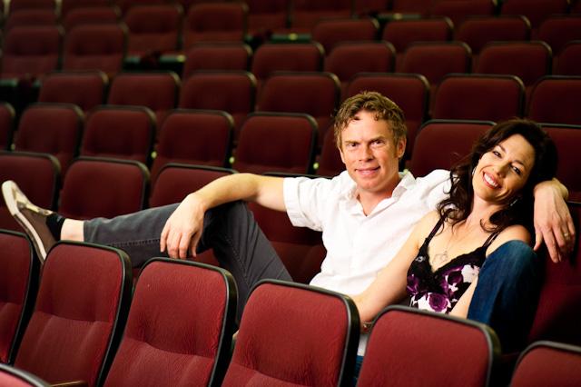Broad Comedy creators Katie Goodman and Soren Kisiel