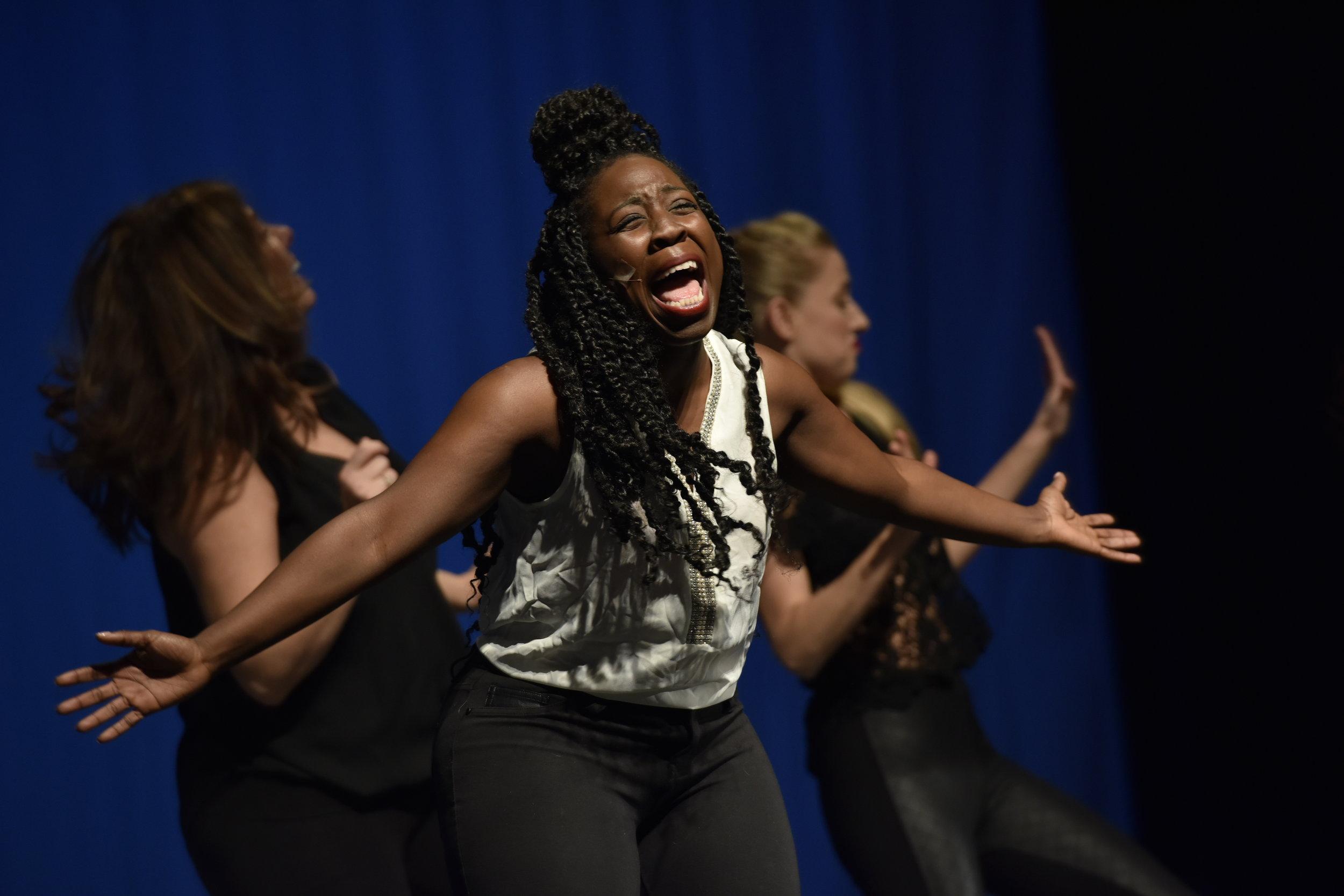 Carlita Victoria Performing Musical Comedy