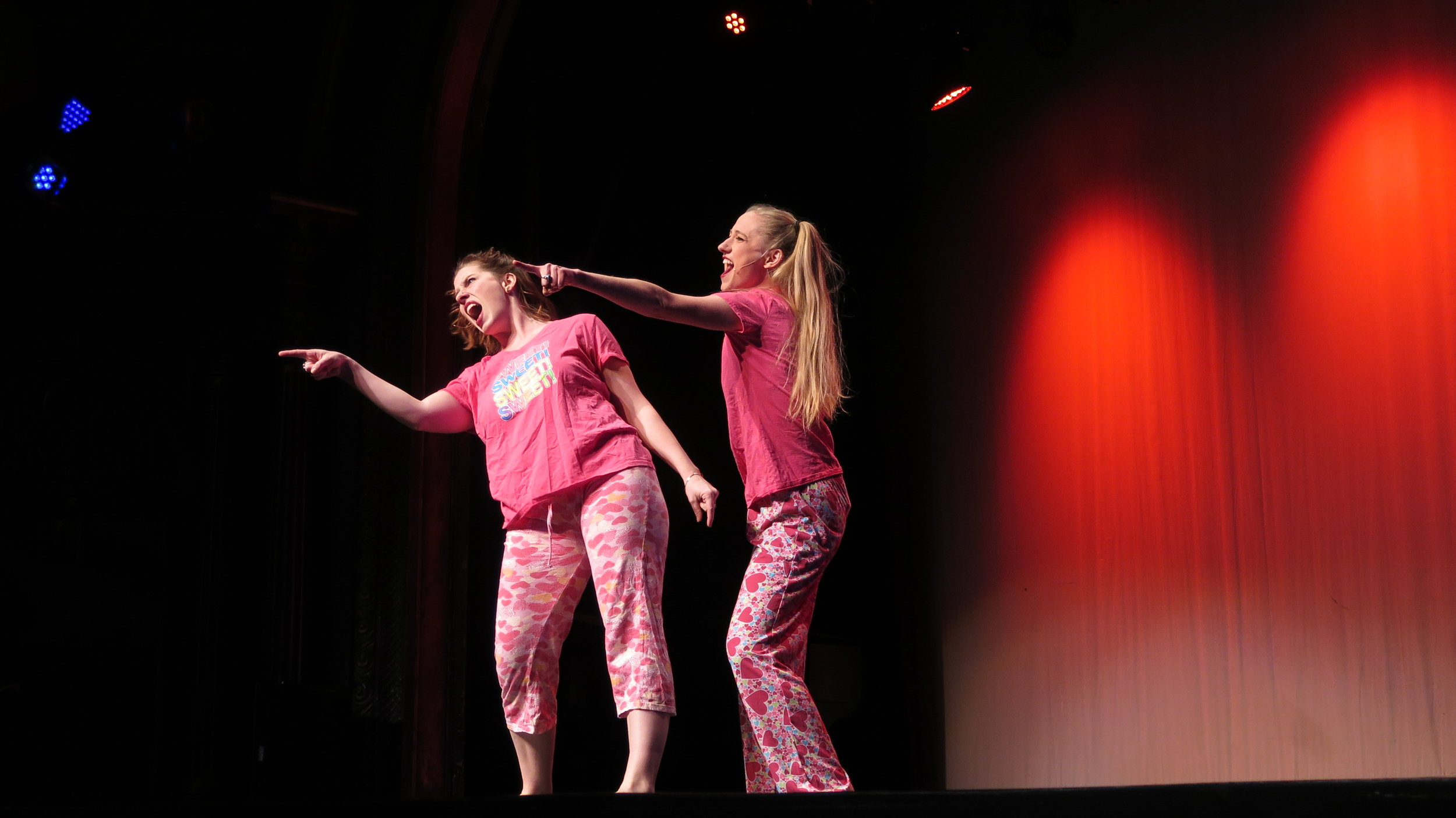 Broad Comedy's musical satire Planned Parenthood performance