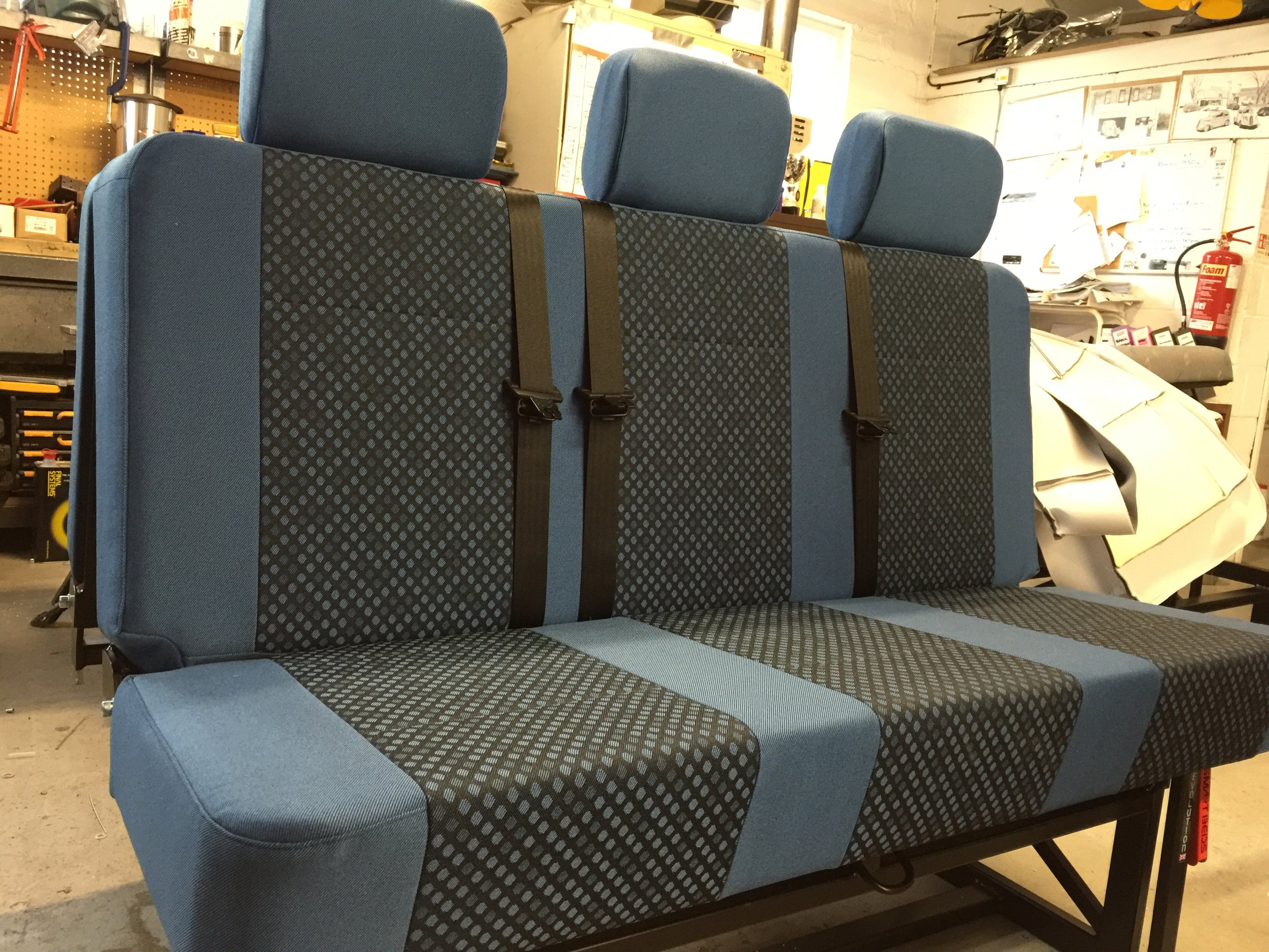 Evolution Full Width - M1 Tested, from £1315excluding fitting, upholstery , and delivery