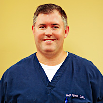 Dr. Matt Tyson - Dr. Tyson is committed to continuing education and takes many advanced courses each year to enhance his skills to serve the dental care needs of his patients better and provide them with a gentle and comfortable dental experience. He is an active member of the American Dental Association, the Texas Dental Association, and has worked with Texas Mission of Mercy bringing dental care to Texans in need.