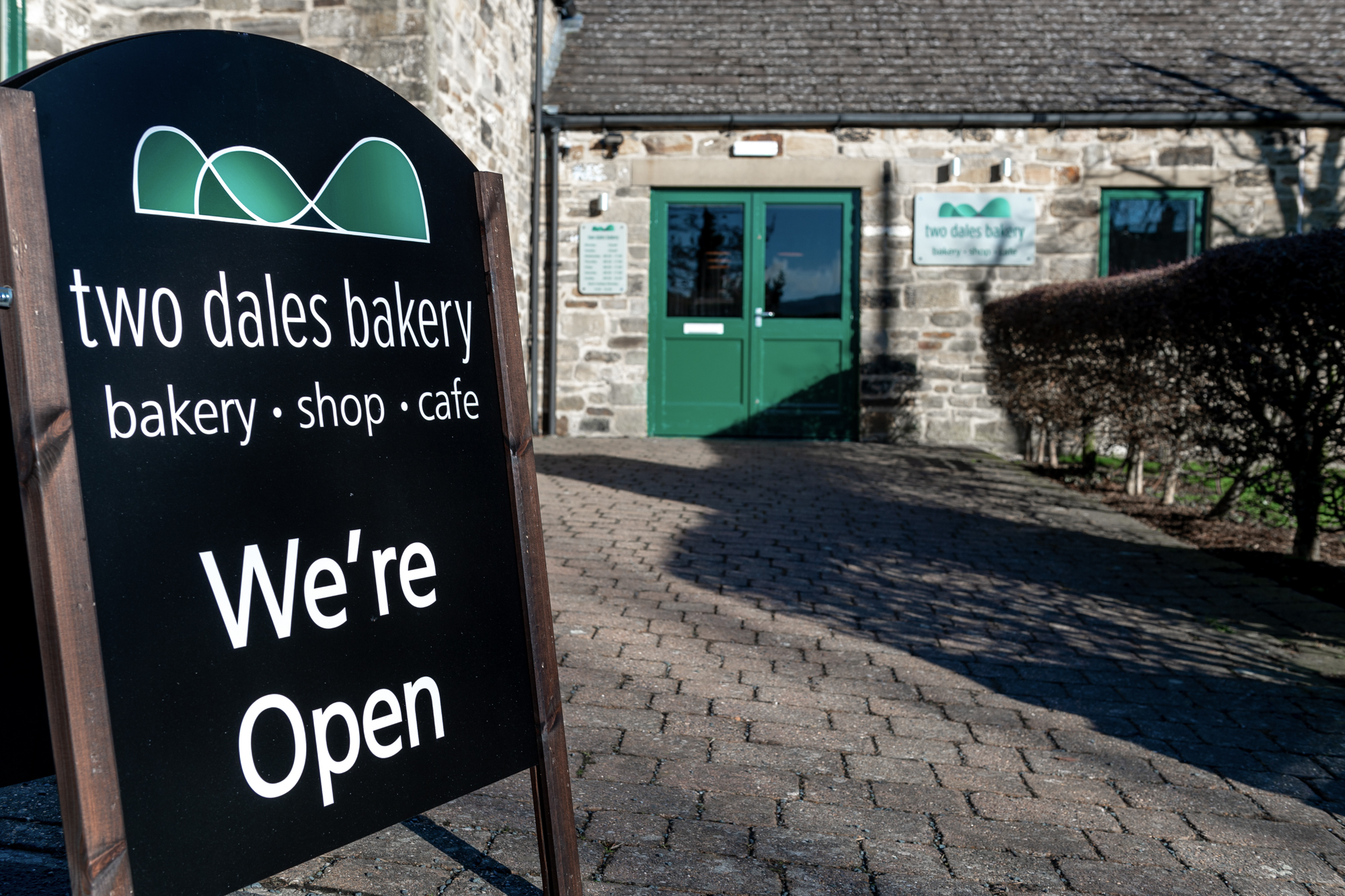 Two Dales Bakery exterior