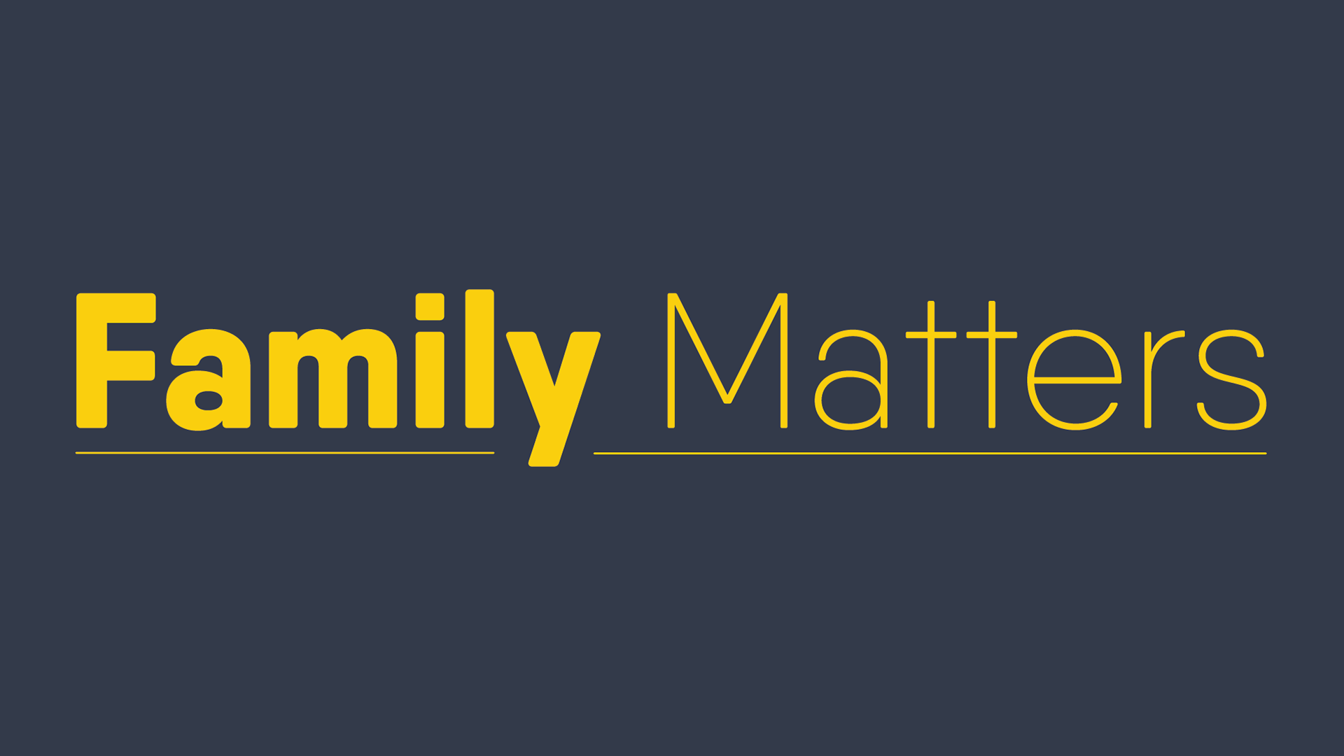 Family Matters Title.png