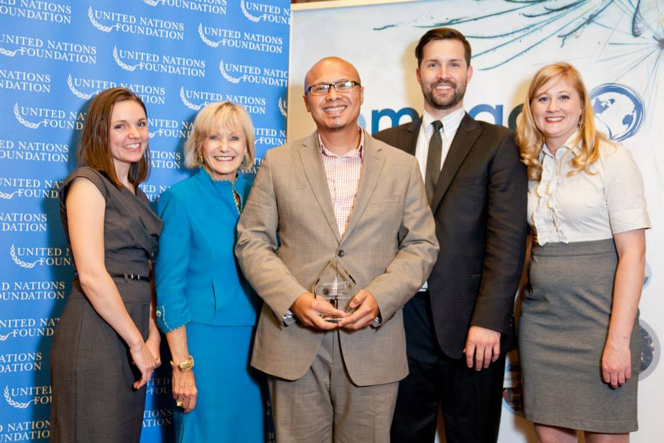 Emad being honored as an Empact100 Honoree at the United Nations in NYC for his social entrepreneurship work around country. Read the   Huffington Post     story where Emad discuss overcoming poverty, abuse, racism and dyslexia.