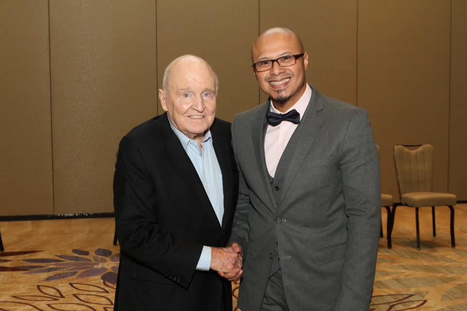 Emad with Jack Welch, NY Times Best-Selling Author & former CEO of General Electric / Chairman of JWMI (Emad was Former Curriculum Dean and Fellow)