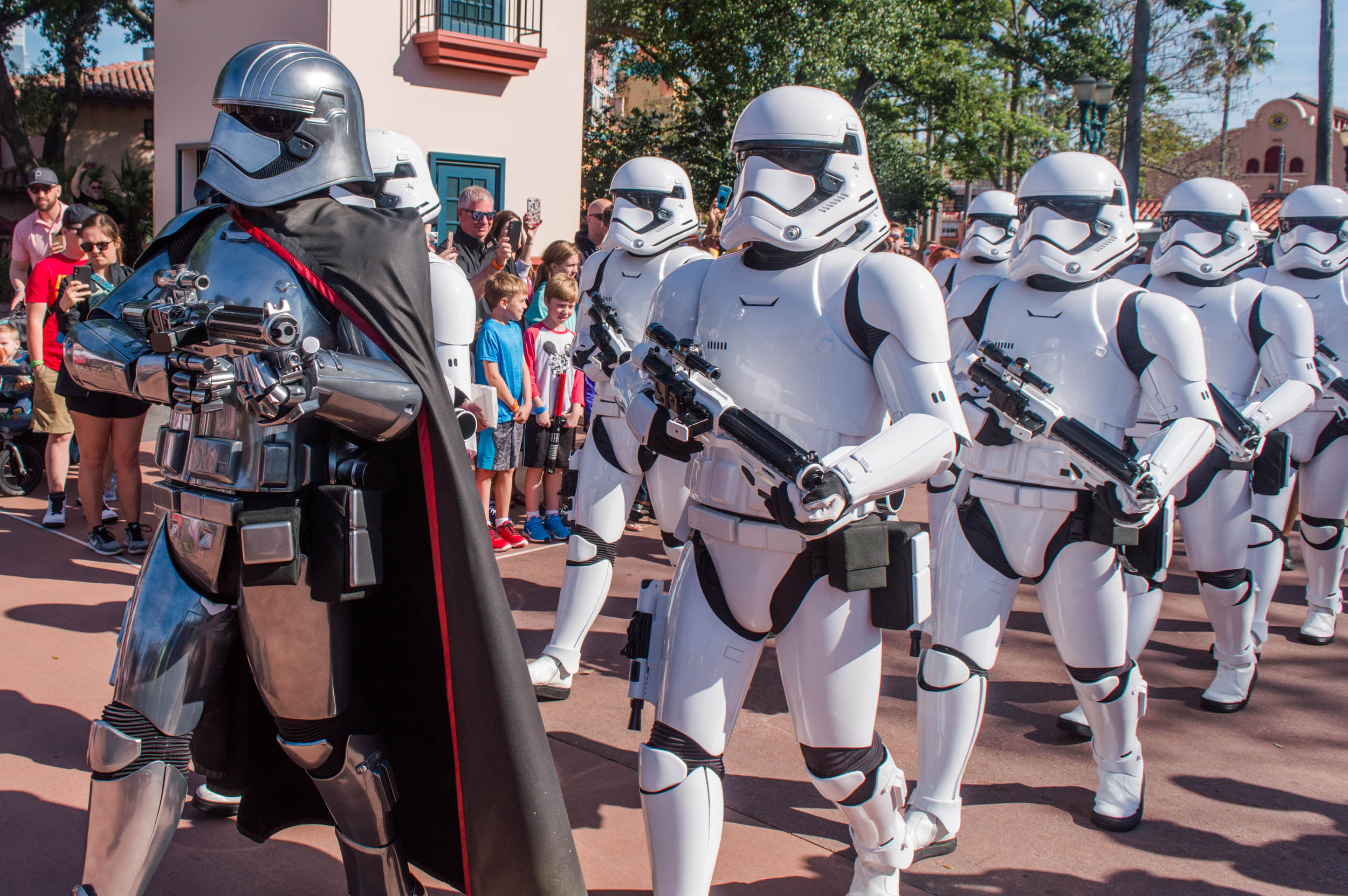 Stormtroopers at Disney's Hollywood Studios