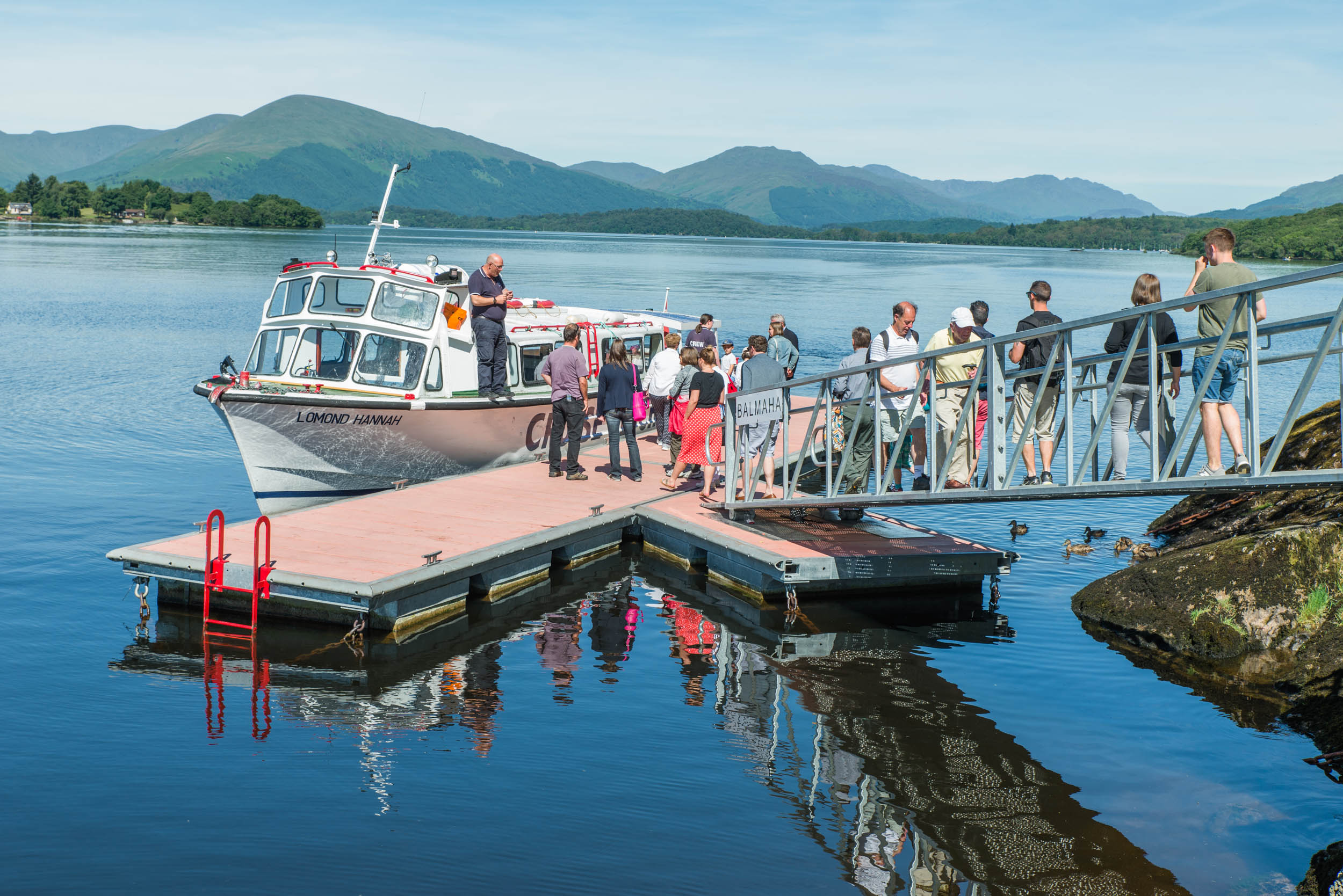 Balmaha Pontoon, Loch Lomond