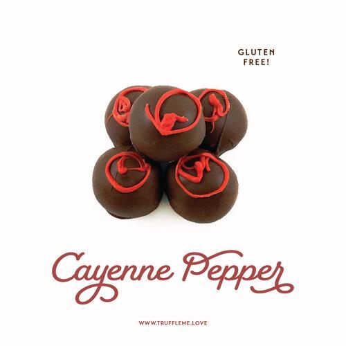 Cayenne Pepper Truffles - Gluten Free
