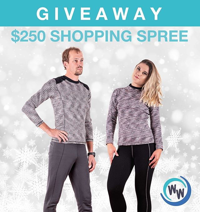 ⭐️❄️GIVEAWAY ALERT!❄️⭐️ You could WIN a $250 SHOPPING SPREE with Winter Woolies! ⭐ . . Ready to experience the ultra-comfort of our Canadian-made activewear? 🇨🇦 Our premium quality, luxurious thermal-core products are available for women, men, AND kids. This shopping spree would be great way to cross some names off your list this holiday season! 🎄 ⭐️ It's super easy to enter and there are plenty of ways to increase your chances of winning:  1. Follow us on Instagram AND 'Like' this post = 1 Entry  2. 'Like' us on Facebook AND 'Like' this post on our Facebook page = 1 Entry (/winterwooliesactivewear)  3. Subscribe to our mailing list (Inbox us your email address) = 1 Entry  4. Share this post in your Insta story = 1 Entry.  5. Share this post on Facebook = 1 Entry.  6. 'Tag' your friends in the comments to receive 1 entry for EACH tag! ❄️Contest closes December 13th.❄️ *Entrants must be Canadian residents*  Good luck! . . .  #contest #giveaway #holidaycontest #holidaygiveaway #holidayshopping #christmasgiveaway #christmasshopping #instawin #instagramcontest #entertowin #enternow #christmas #activewear #shoppingspree #free #leggings #holidays #winwinwin #winner #contestdaily #contestentry #sweepstakes #giveaways #contests . . .  This giveaway is not sponsored, endorsed or administered by, or associated with Facebook or Instagram.