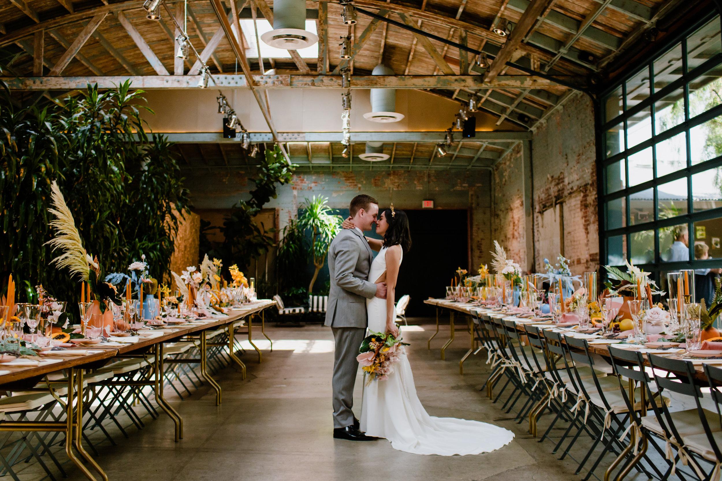Sharon and Adam Downtown Los Angeles Arts District Wedding Millwick Venue - Eve Rox Photography-224.jpg
