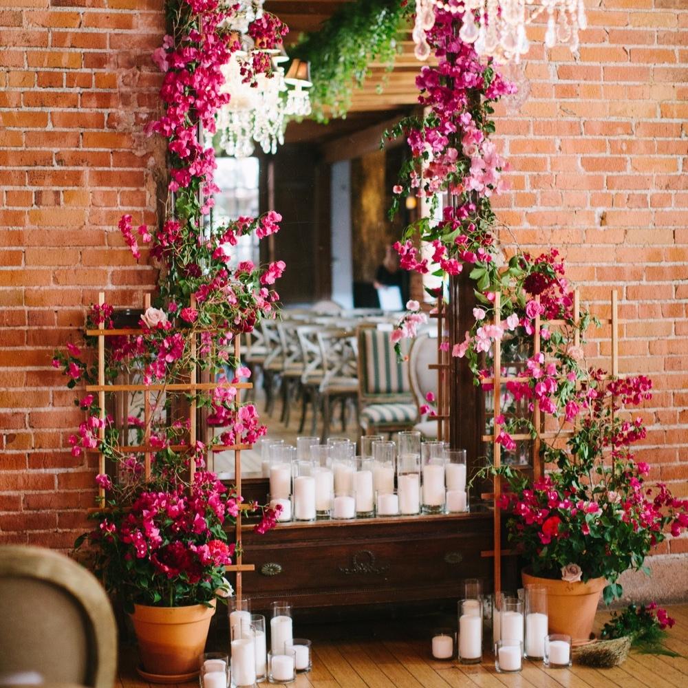 urban bougainvillea wedding - featured onruffled blog