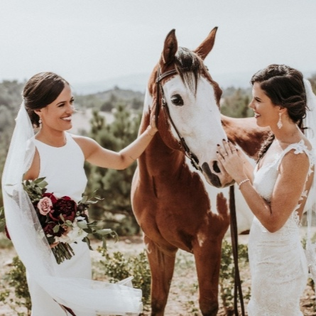 rustic mountain wedding - featured oncarats and cake