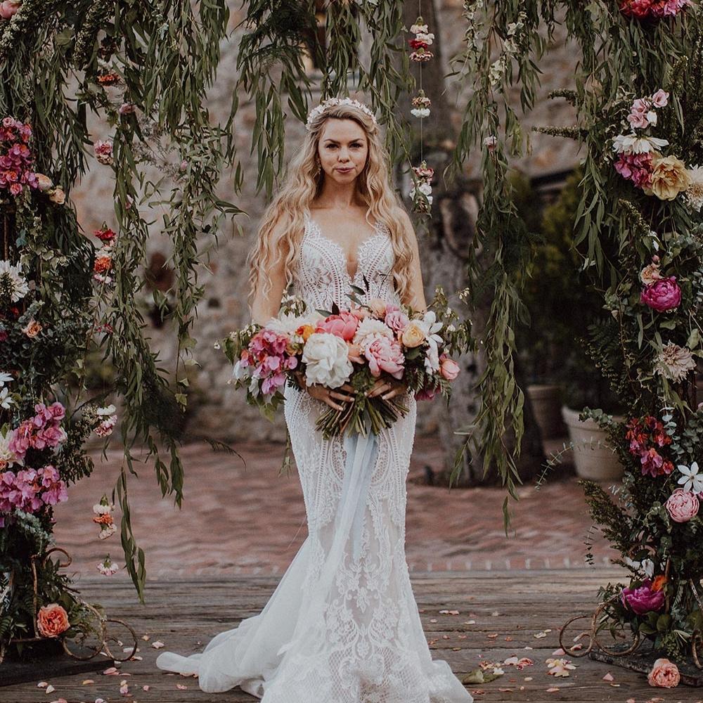 whimsical garden wedding - featured onruffled blog