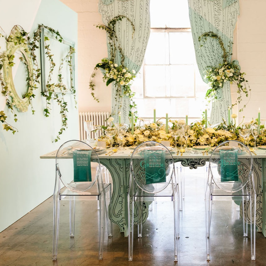 the creambridal event 2016 - Featured onGreen Wedding shoes