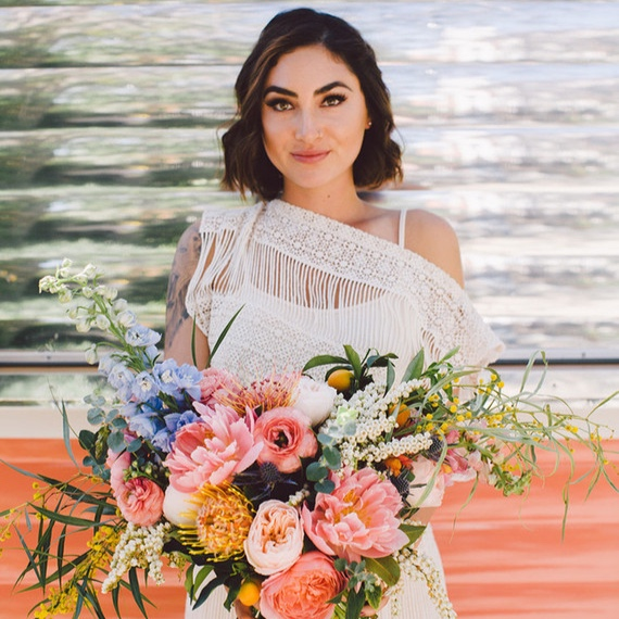 bohemian ojaielopement - featured on100 layer cake