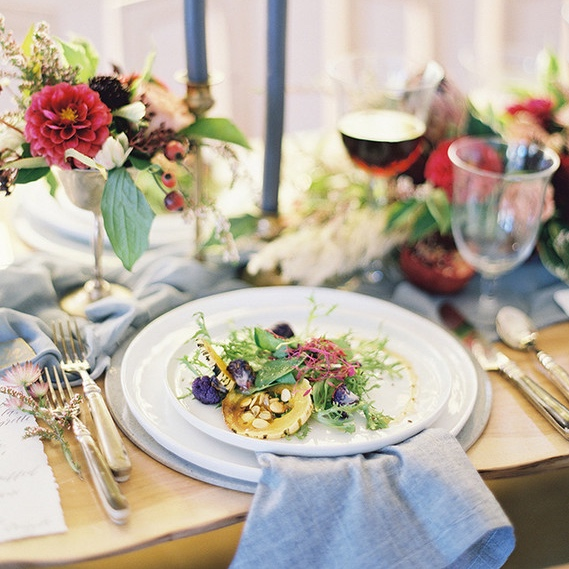 california winter wedding inspiration - featured on100 layer cake