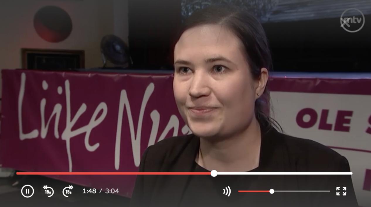 Pääsin    MTV3   :n uutisiin    Tavoittelemme noin 5-10 kansanedustajan paikkaa. Se tarkoittaisi, että Helsingistä tavoittelemme noin 1-3 paikkaa.   Katso MTV uutisten video  tästä . Minut löydät videon loppupäästä.