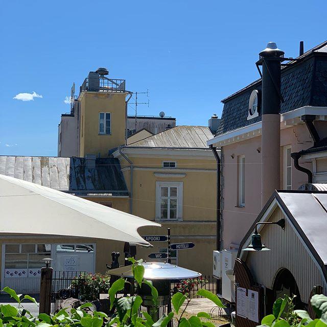 Ei uskoisi että Suomesta. Mutta tällaista Ukissa on. 💙 #uusikaupunki #gasthousepooki