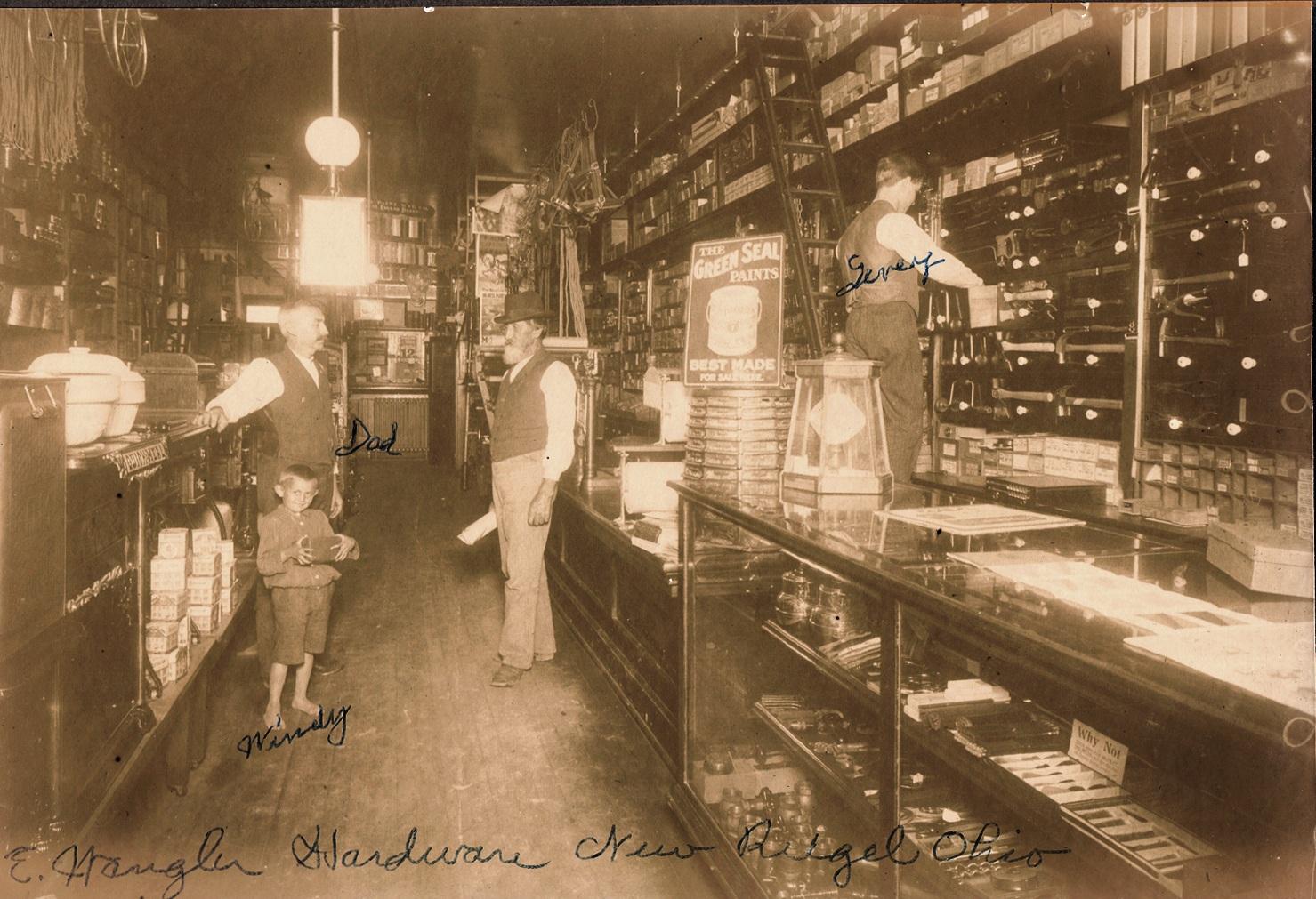 1890 - Original location in New Riegel, Ohio