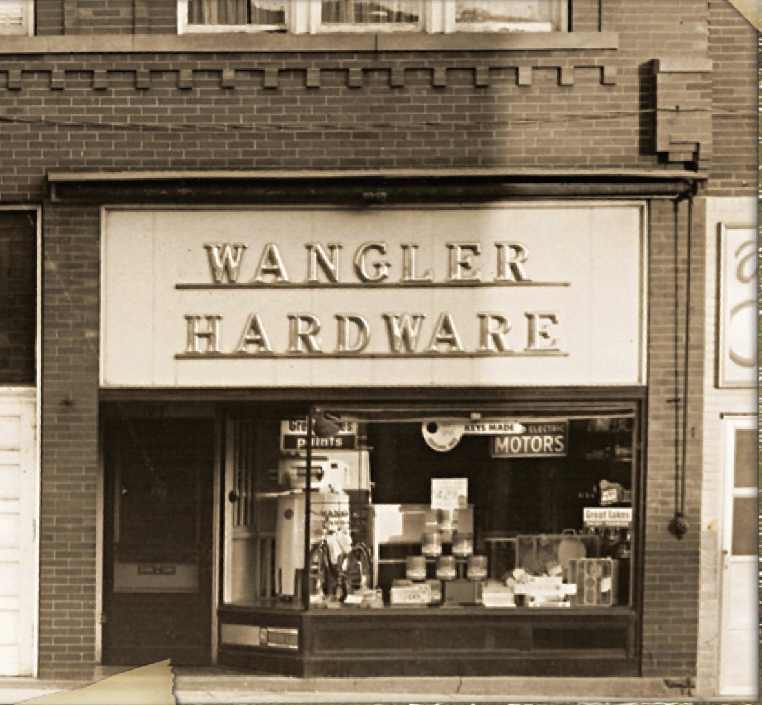 1944 - Location on 127 N Wayne Street, Fort Recovery Ohio