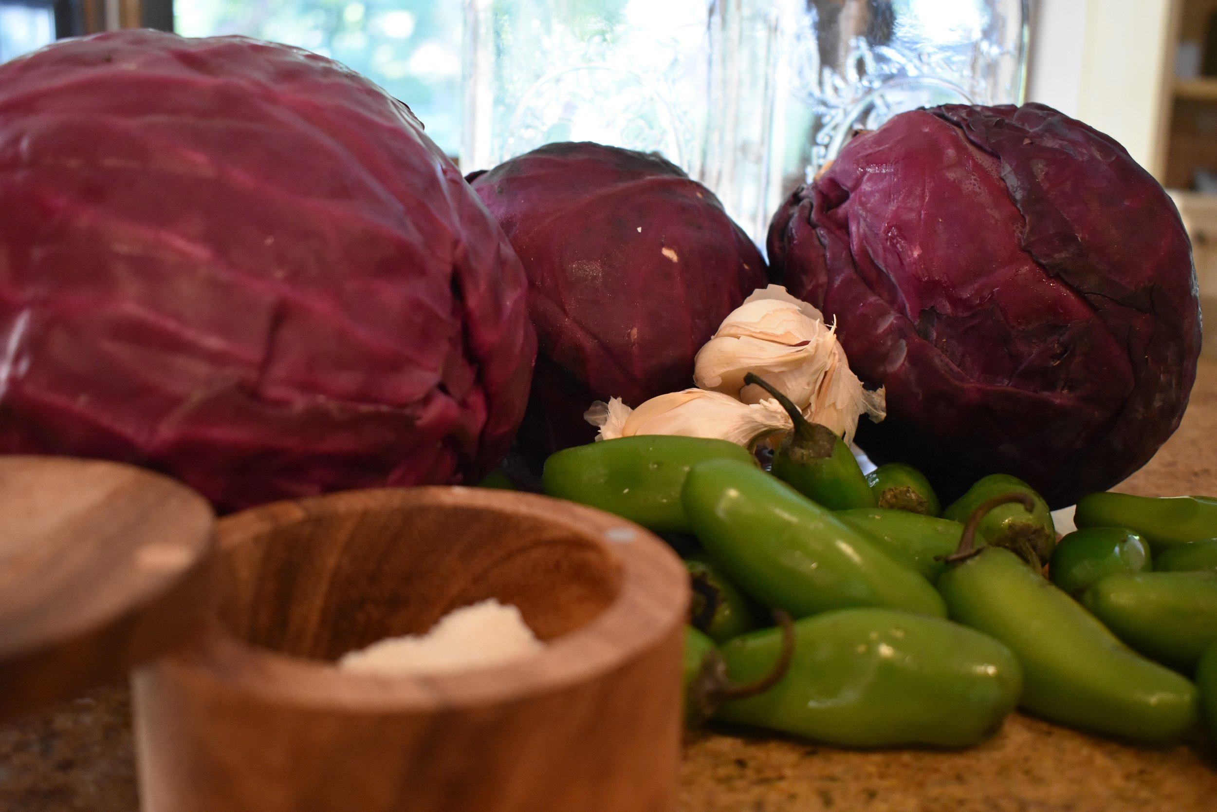 All this becomes sauerkraut perfection in a just a few short days.