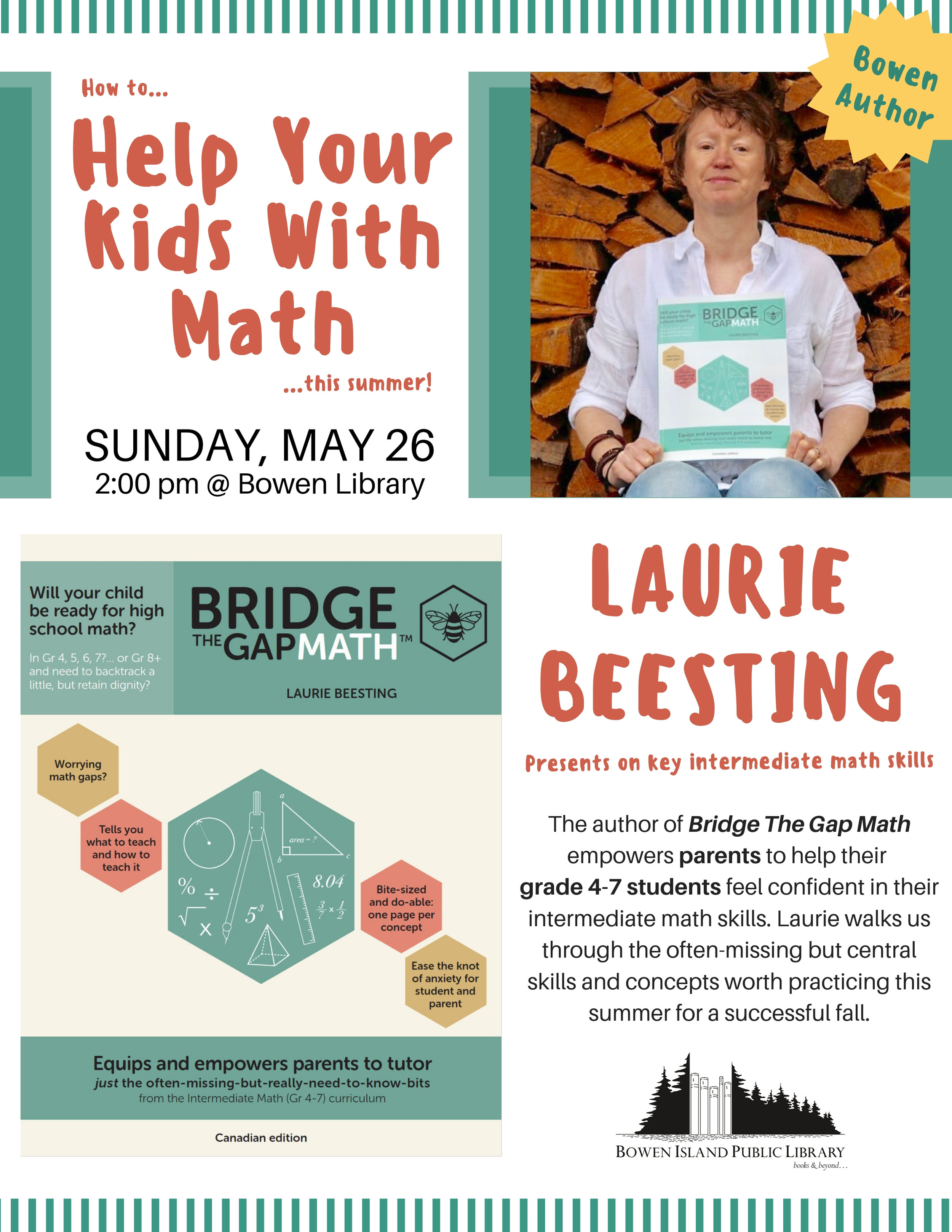 Laurie Beesting Author Talk Poster.jpg