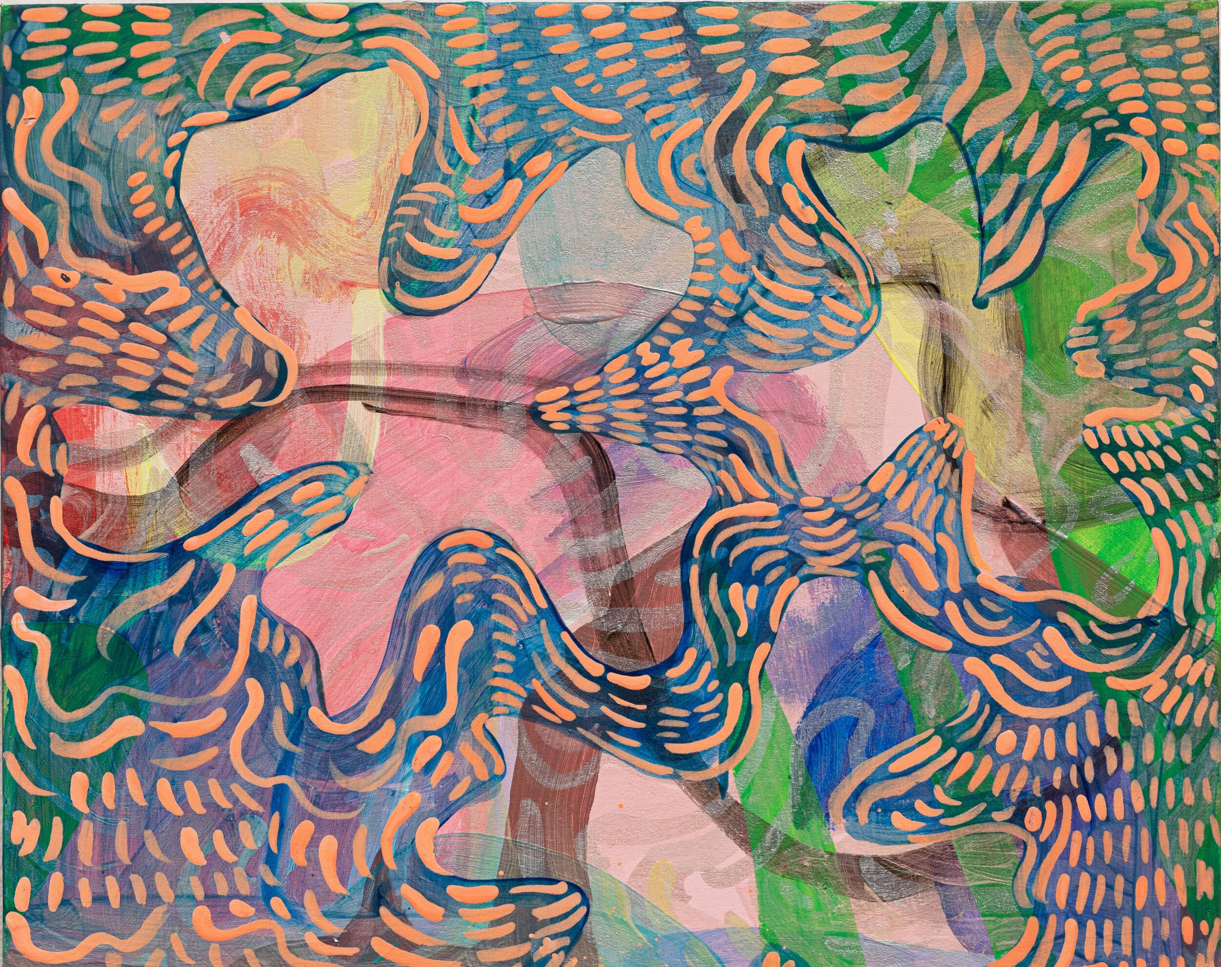 Wylie Garcia, Turning of the Season, 2019, Acrylic on Birch Panel, 8x10, 425.jpg