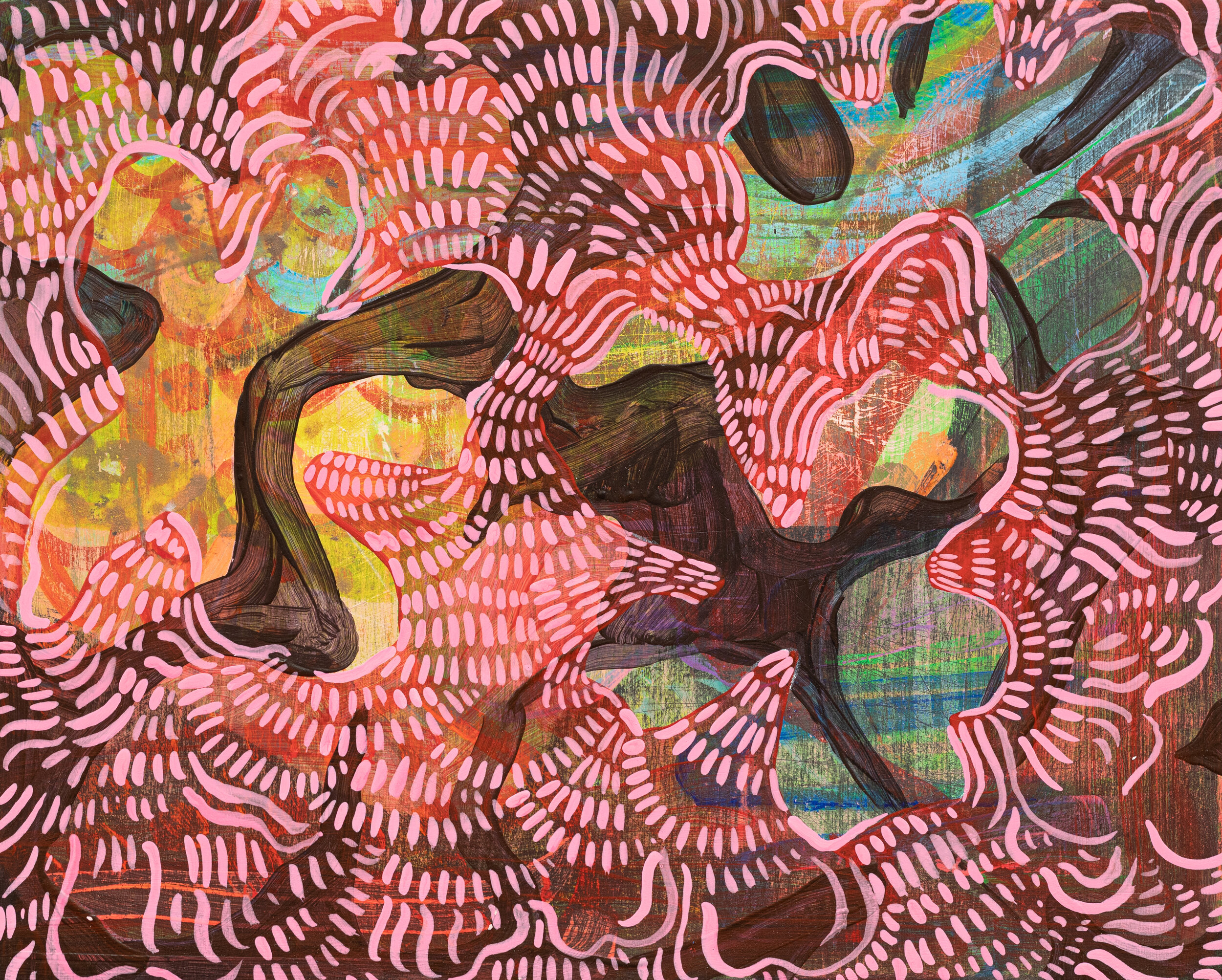 Wylie Garcia, Little Building Block, 2019, Acrylic on Birch Panel, 8x10, 425.jpg