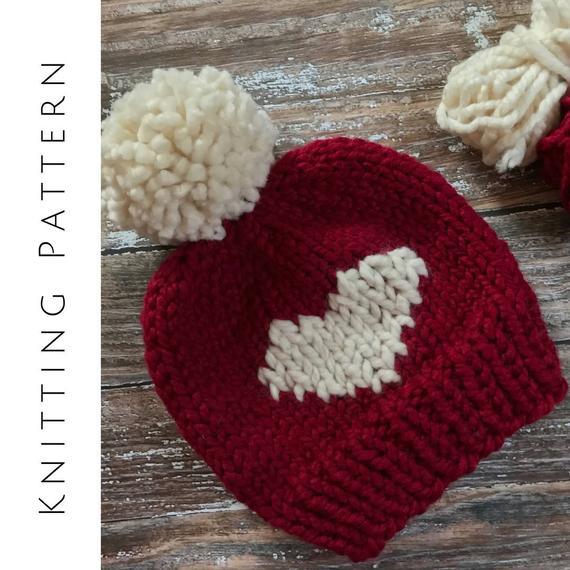 St. Valentines hat pattern
