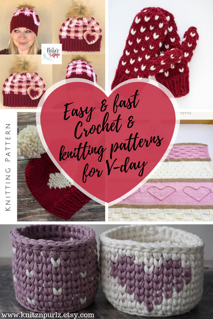 easy ans fast patterns for valentines day
