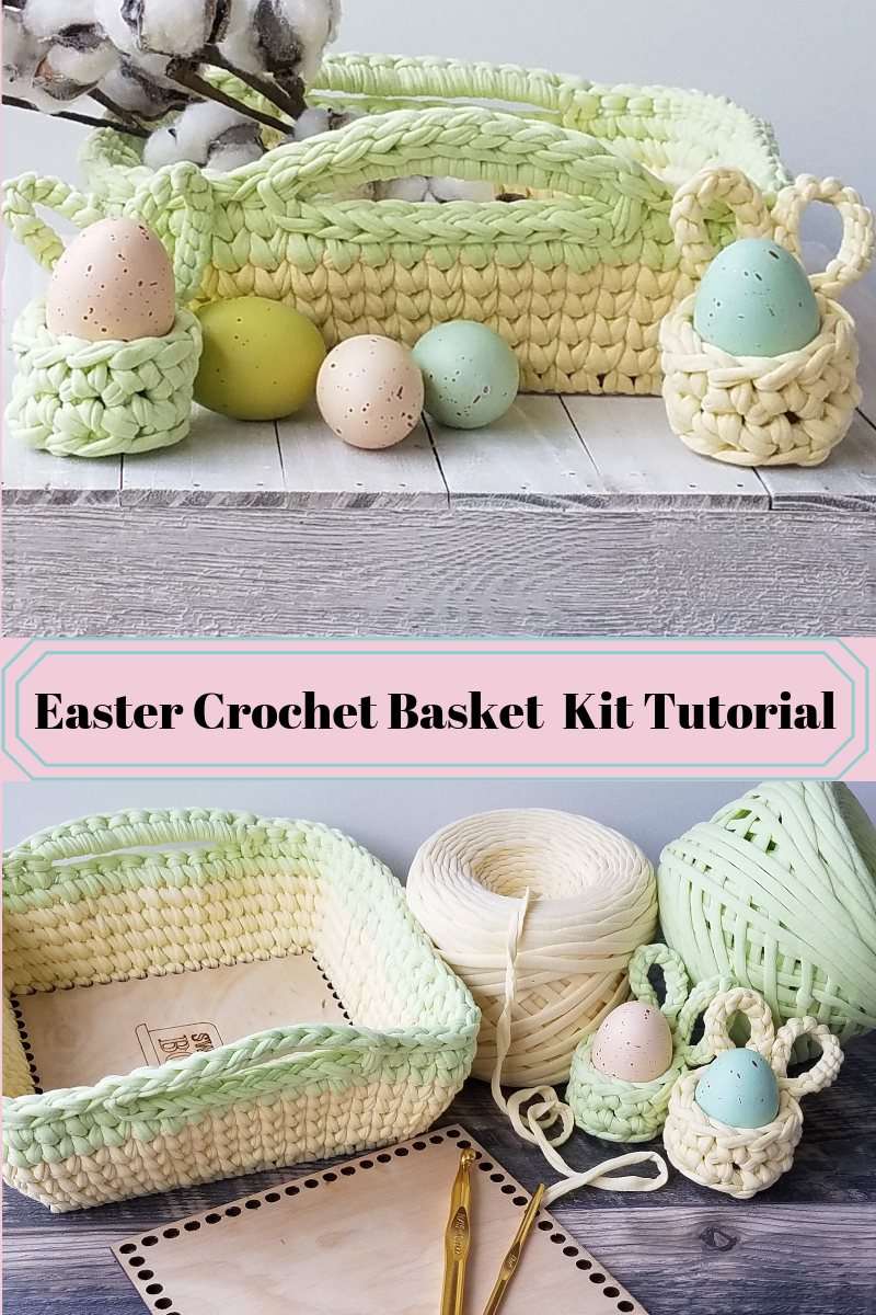 Easter Crochet Basket and Crochet Kit Tutorial.png