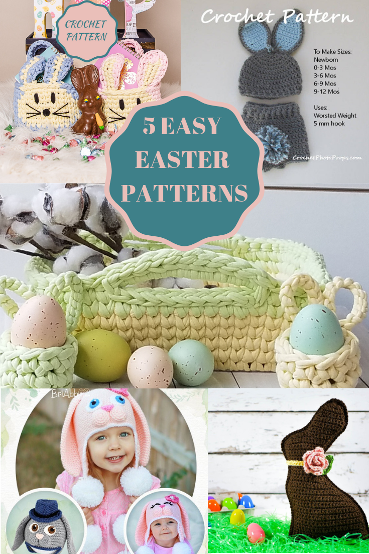 Easter crochet patterns