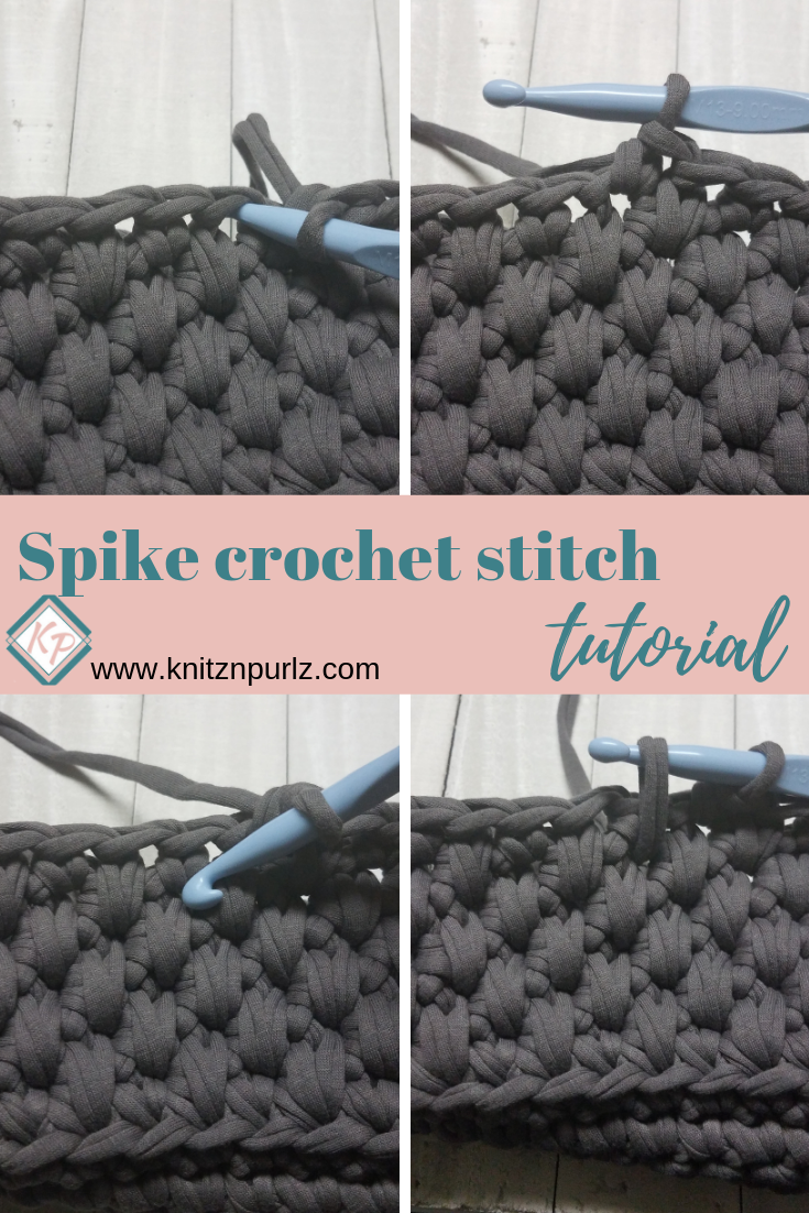 Spike crochet stitch