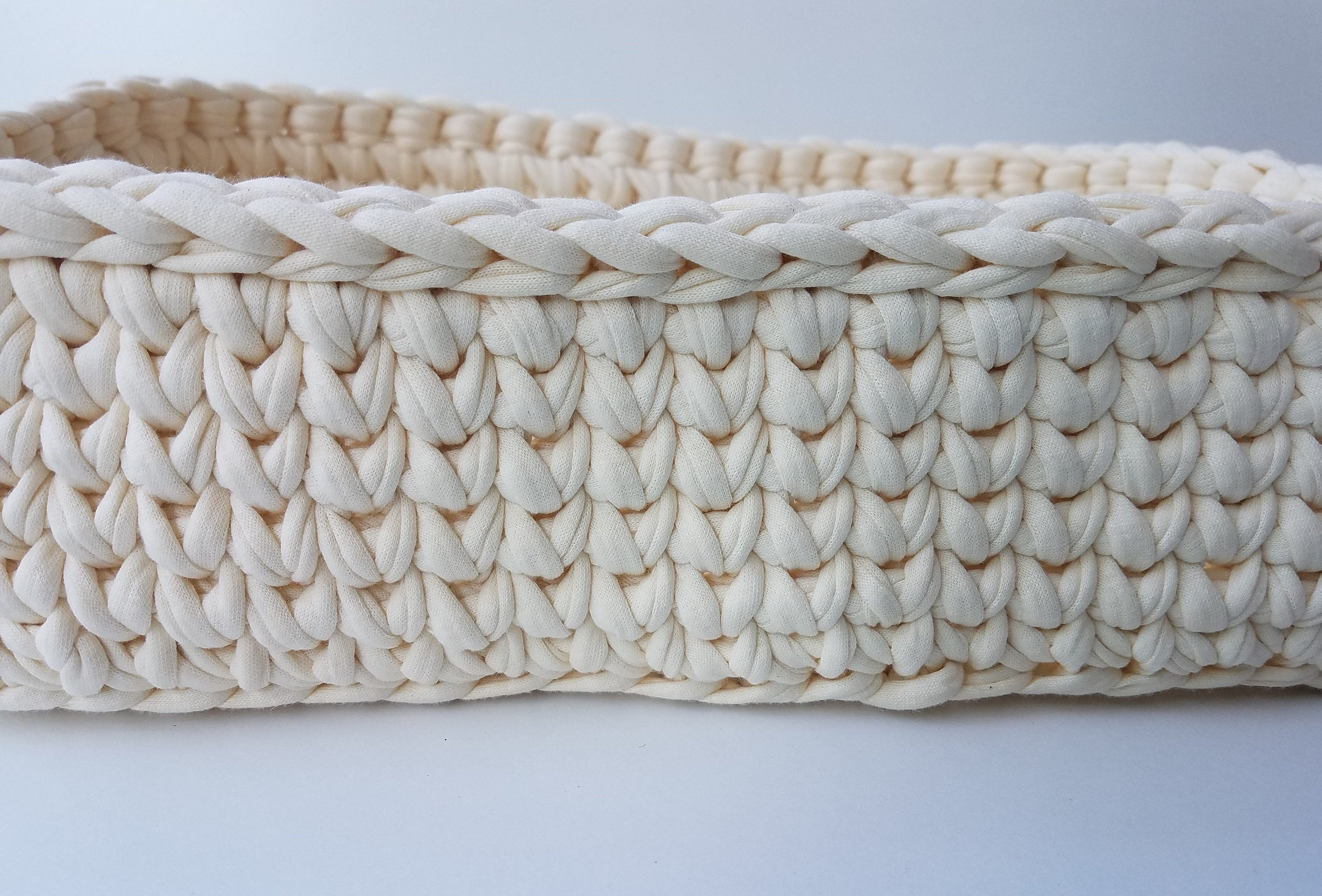 rectangular crochet basket pattern