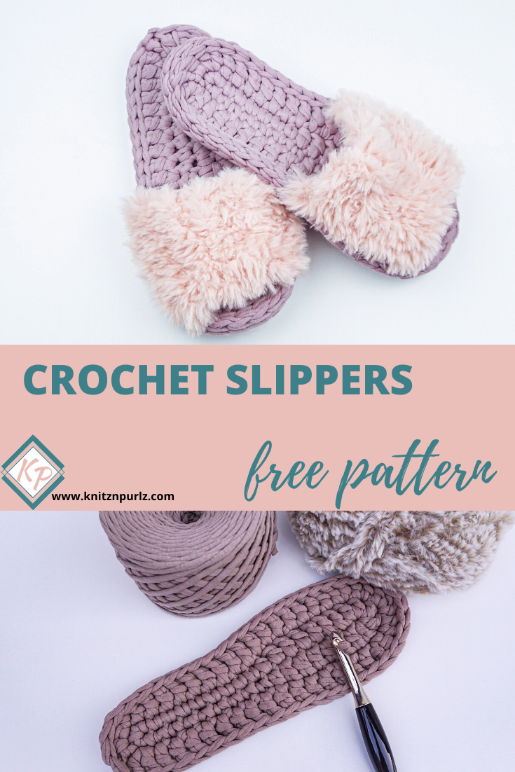 Crochet Slippers Free Pattern Knitznpurlzt Shirt Yarn And Crochet Patterns