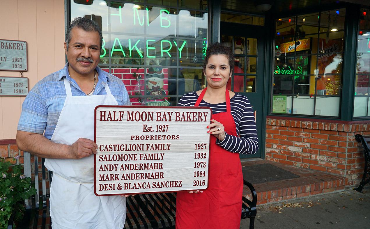 Owners Desi and Blanca Sanchez