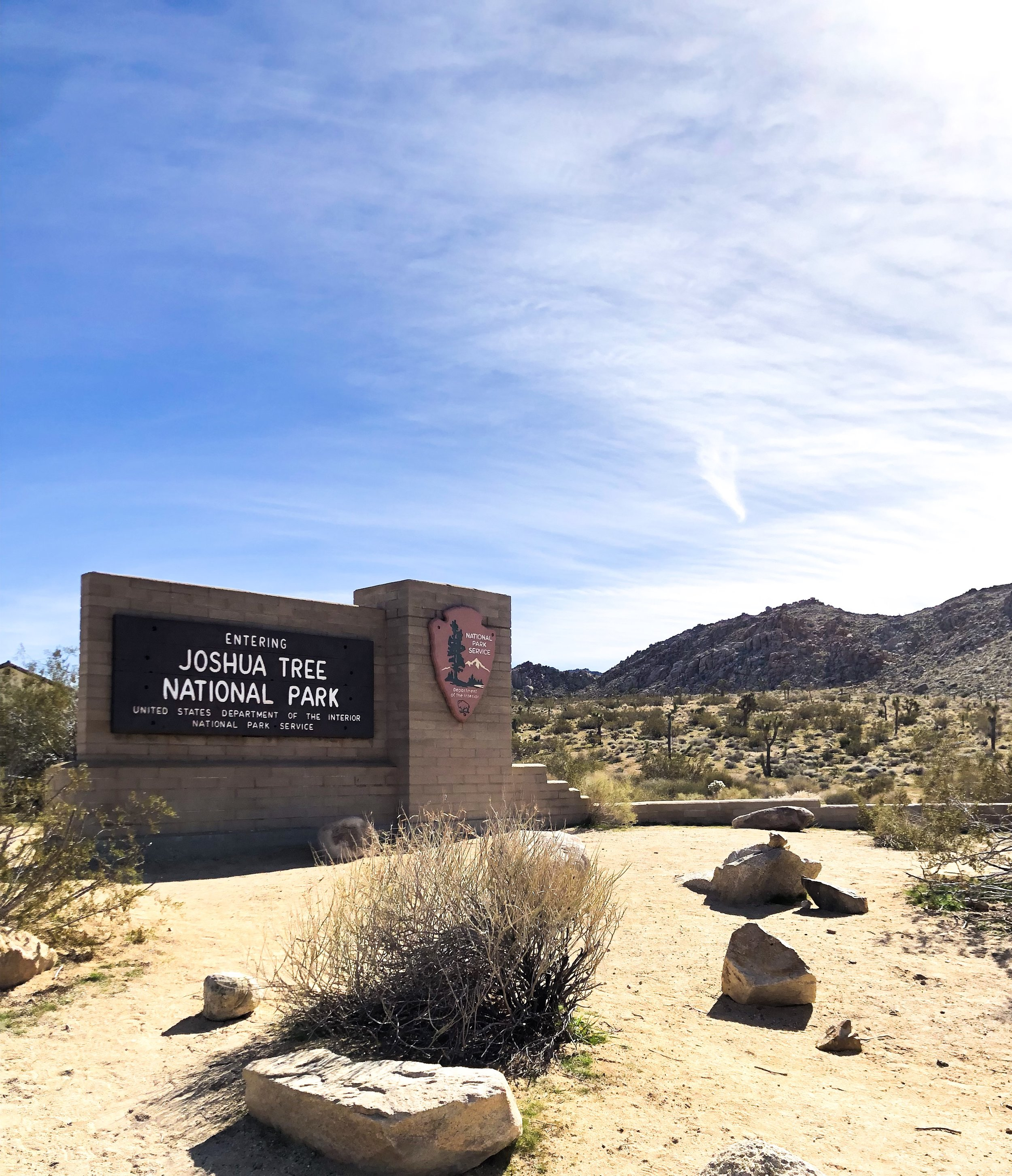 Joshua Tree National Park | North Entrance | California
