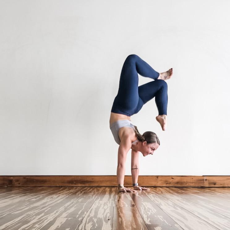 Taking Flight Yoga by Paige Handstand Workshop