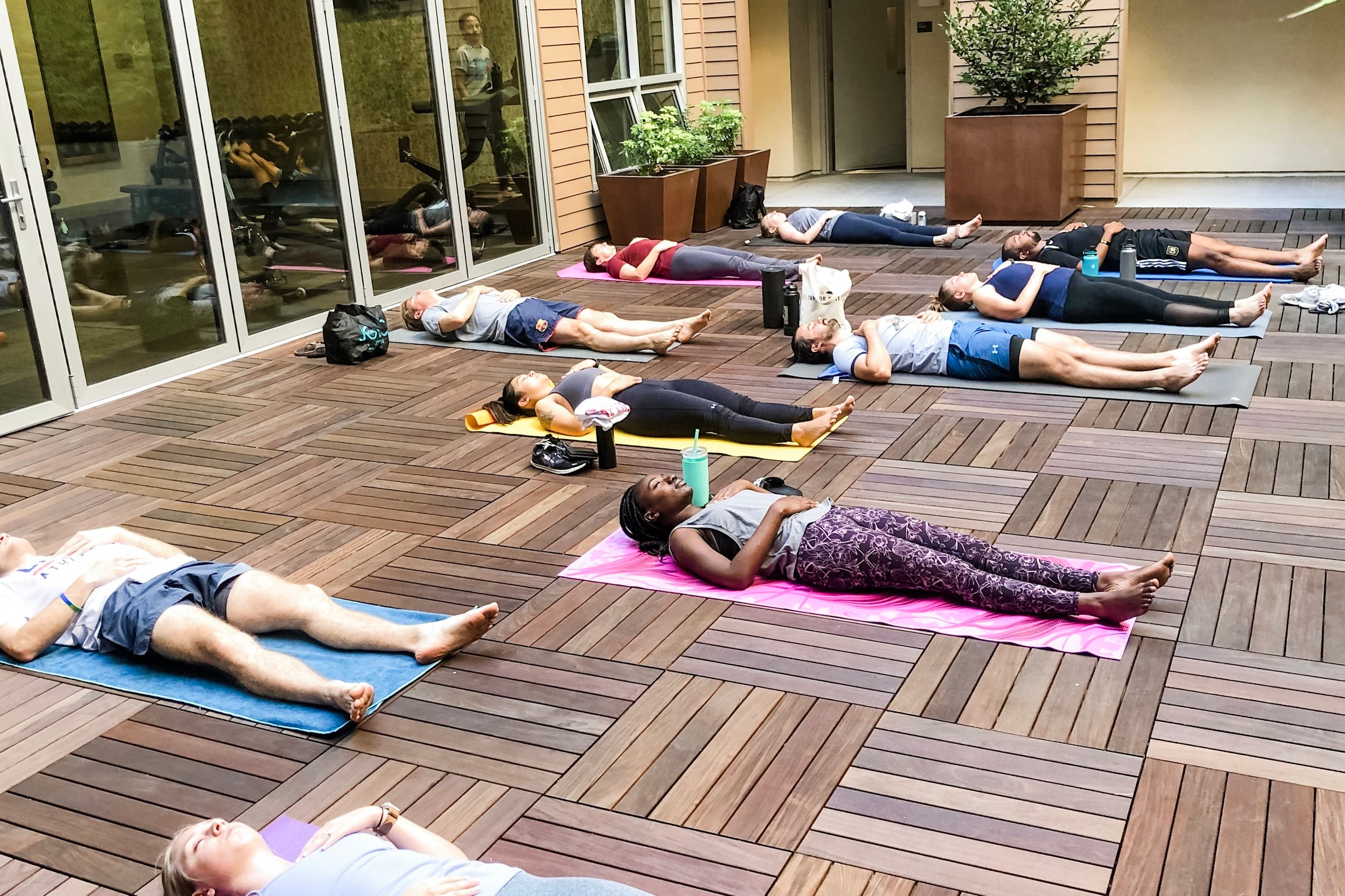 RESIDENTIAL YOGA - RESIDENTIAL YOGA CLASSES FOR BUILT IN COMMUNITY AND RELAXATION