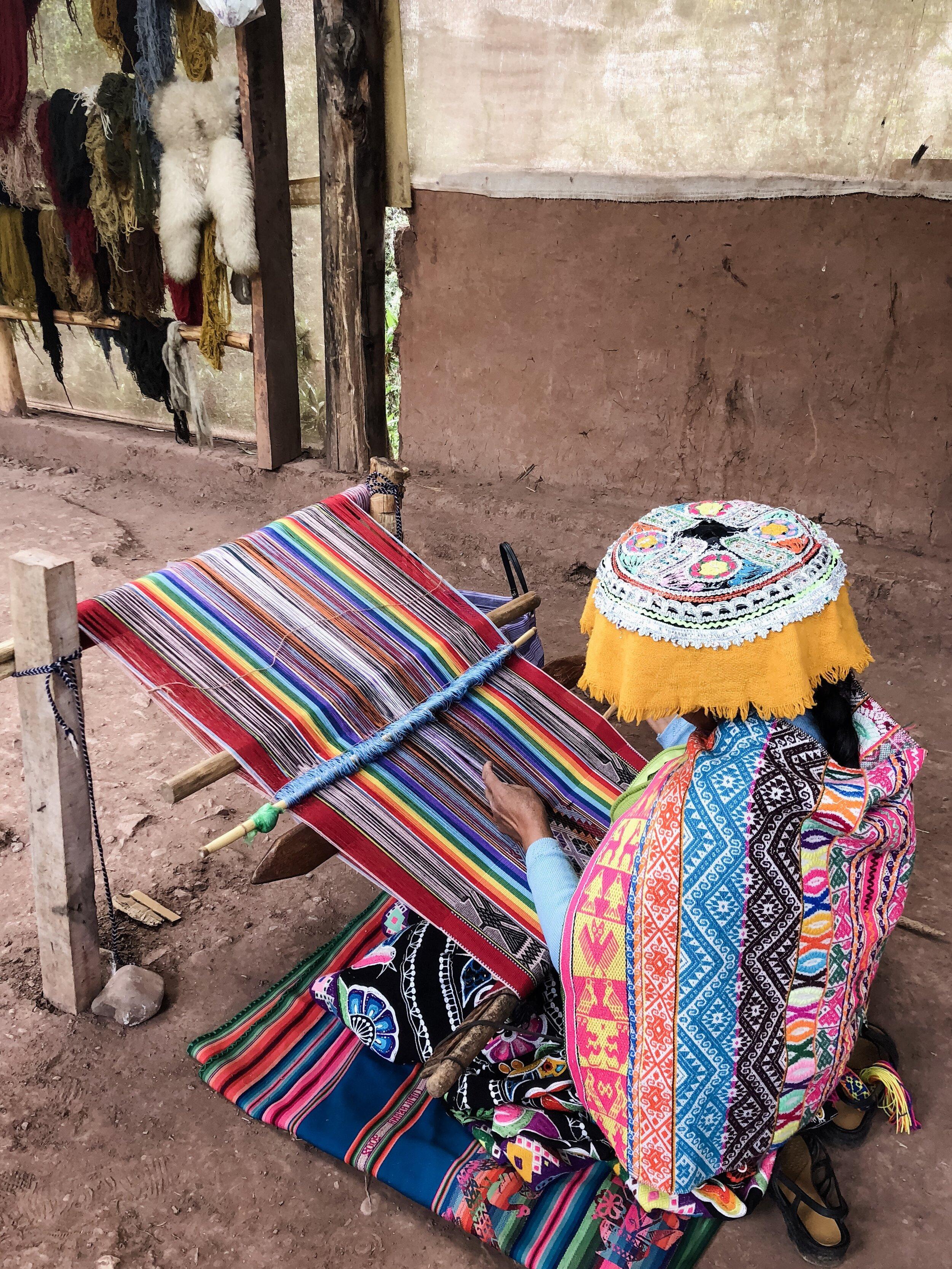 Handwoven Ponchos